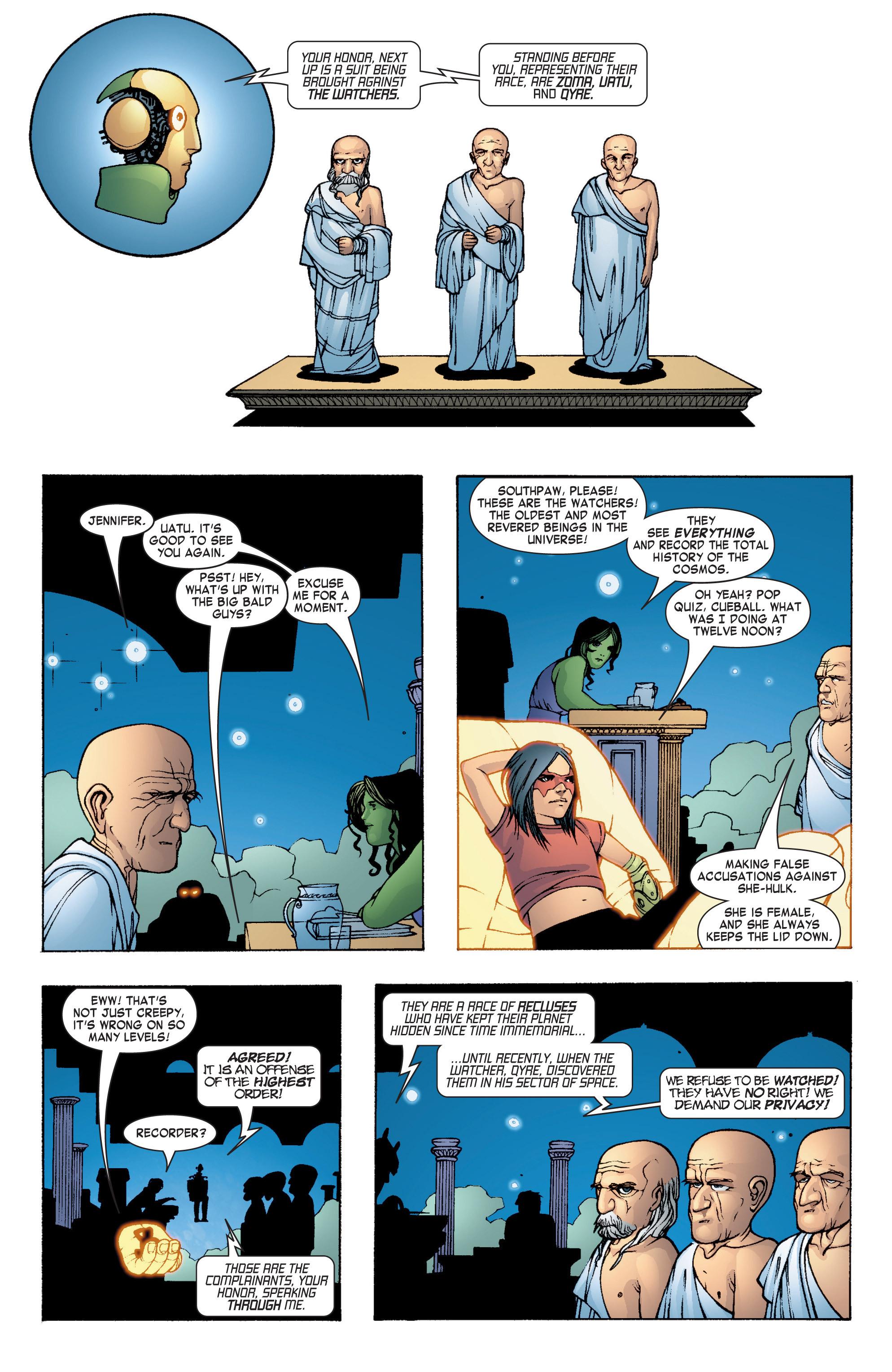 Read online She-Hulk (2004) comic -  Issue #7 - 19