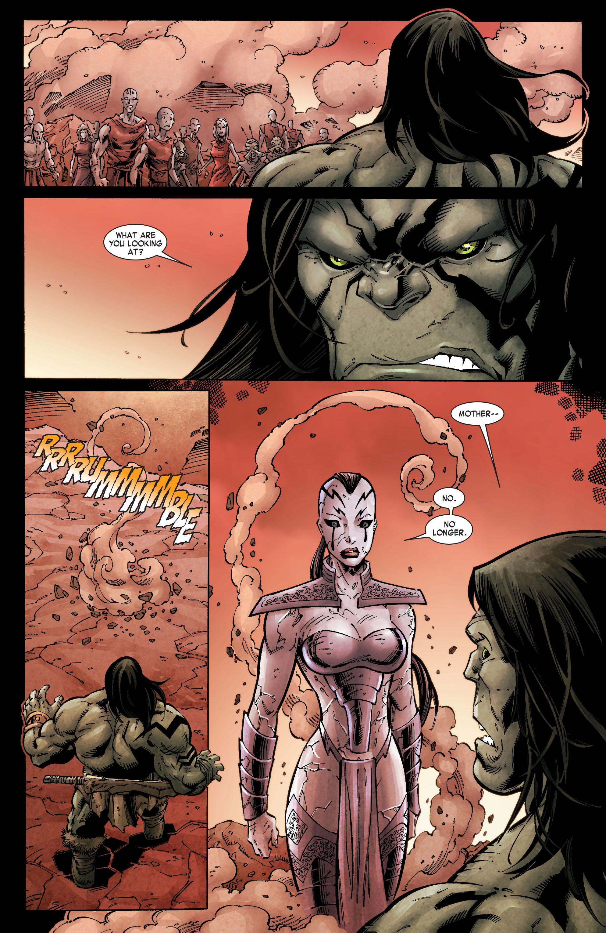 Read online Skaar: Son of Hulk comic -  Issue #10 - 22
