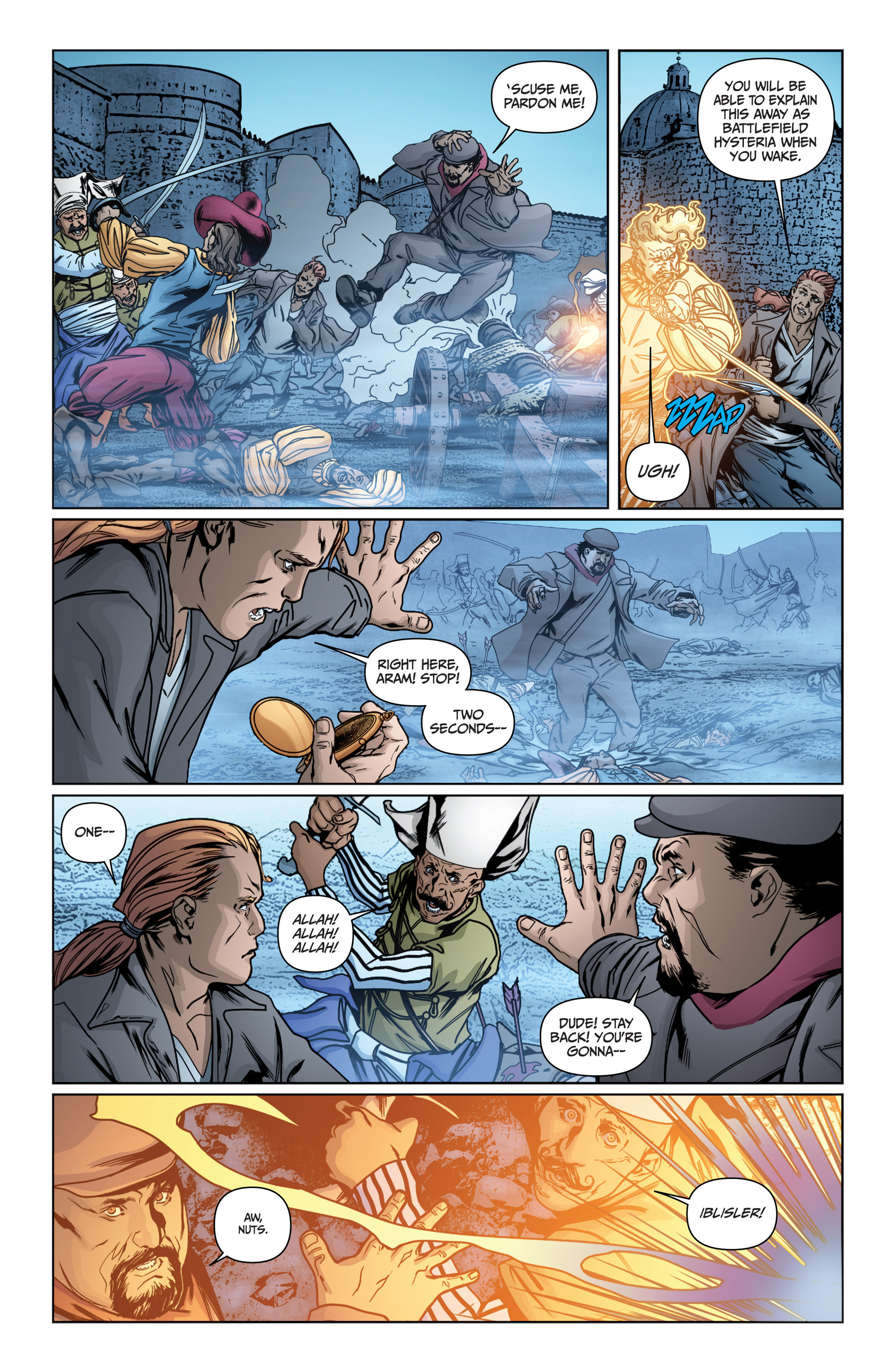 Read online Archer and Armstrong comic -  Issue #15 - 13