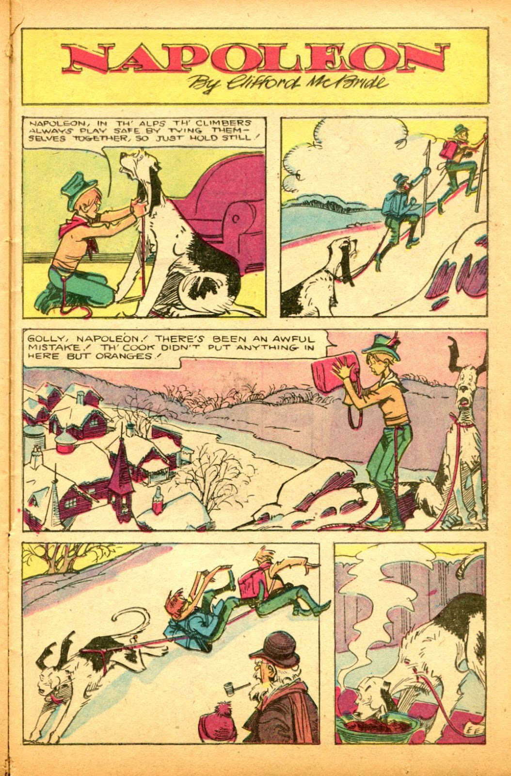 Read online Famous Funnies comic -  Issue #151 - 37