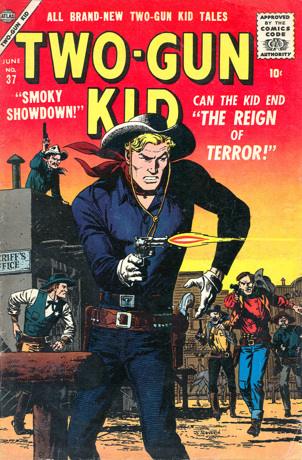 Read online Two-Gun Kid comic -  Issue #37 - 1