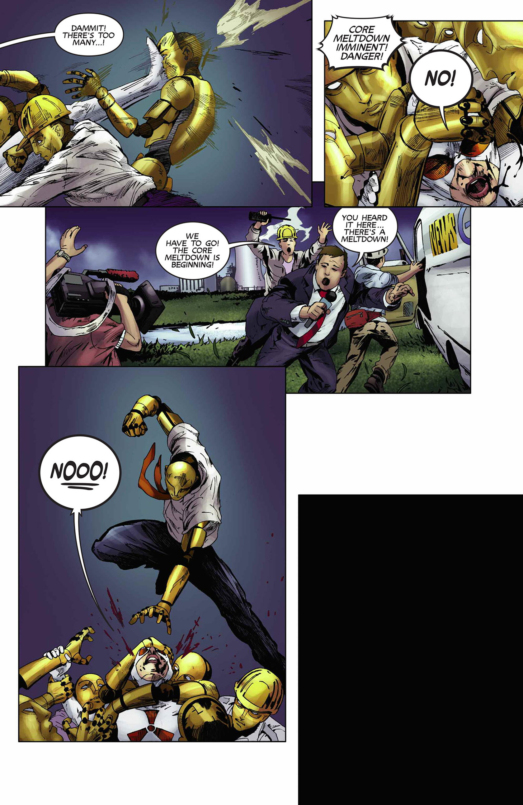 Read online Solar: Man of the Atom (2014) comic -  Issue #9 - 21