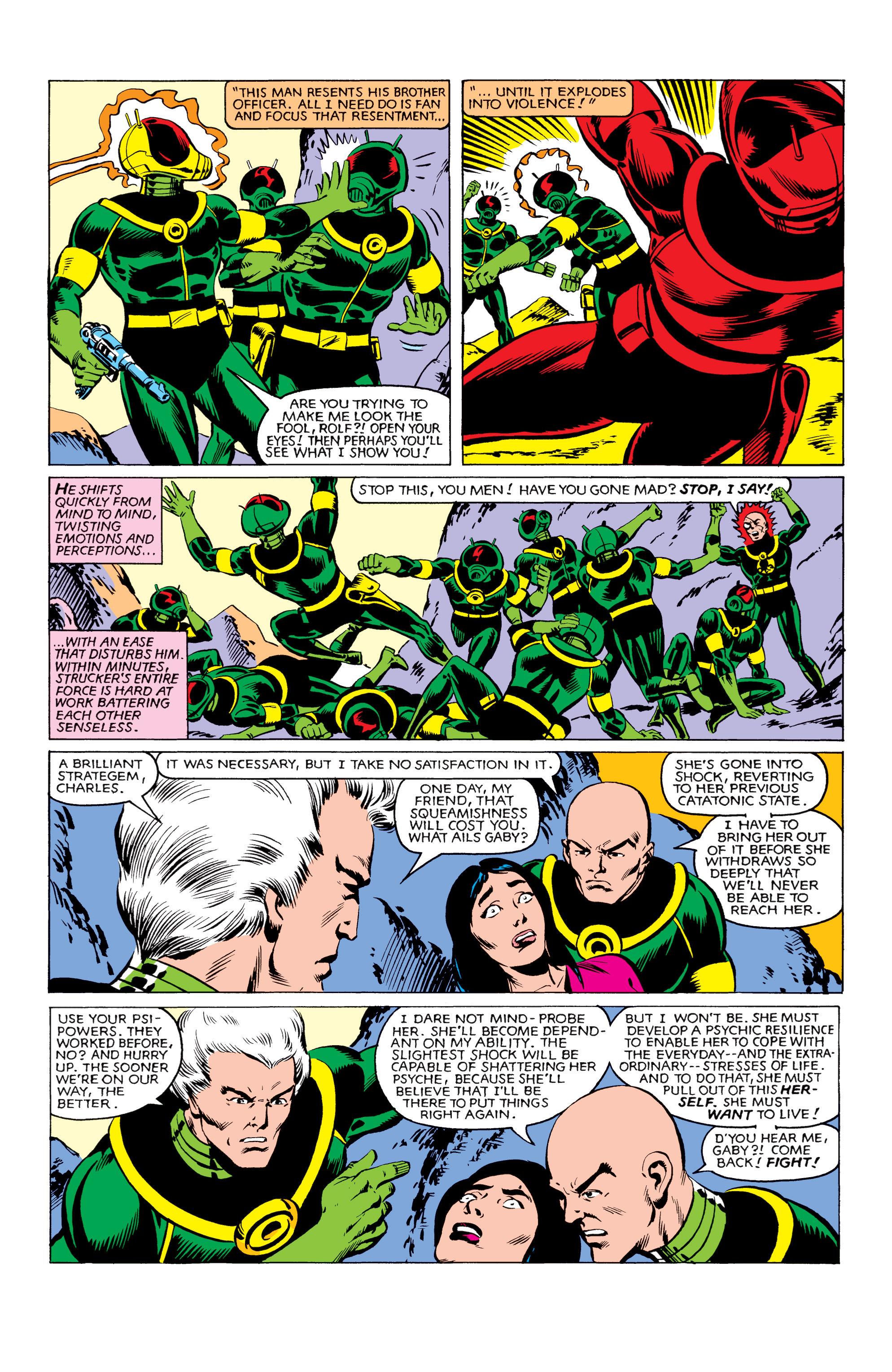 Read online Uncanny X-Men (1963) comic -  Issue #161 - 18