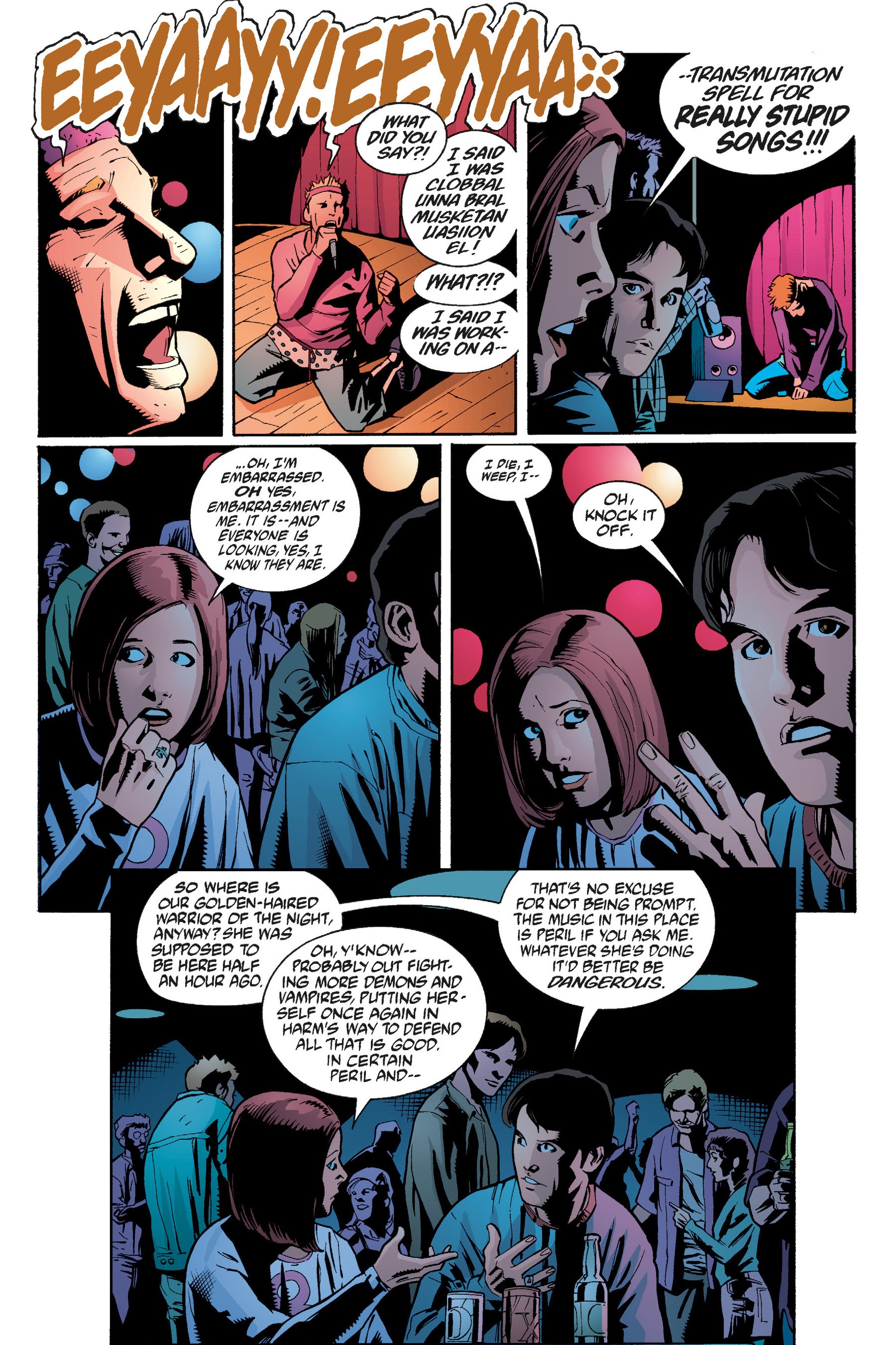 Read online Buffy the Vampire Slayer: Omnibus comic -  Issue # TPB 5 - 241