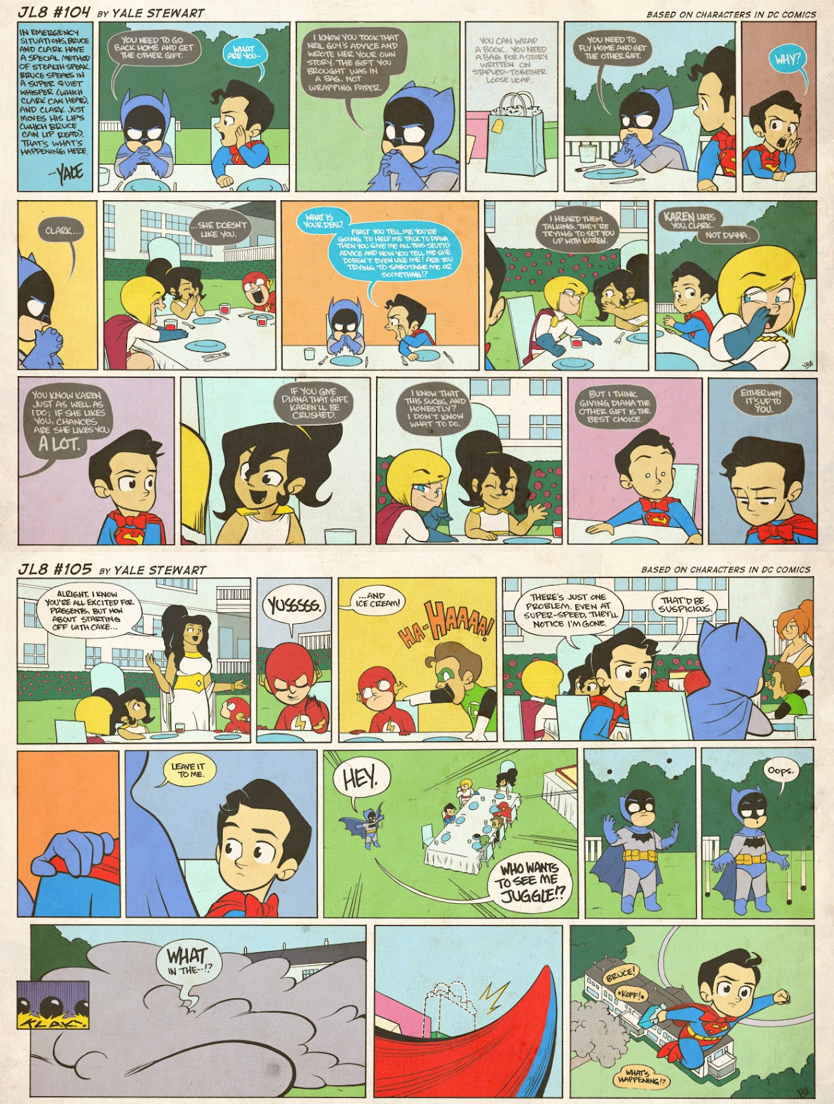 Read online JL8 – The Complete Collection comic -  Issue # TPB (Part 1) - 49