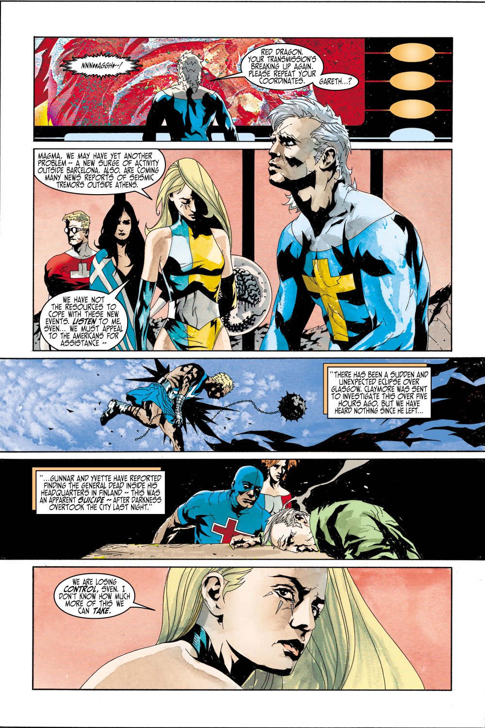 Read online Sentry (2000) comic -  Issue #4 - 10