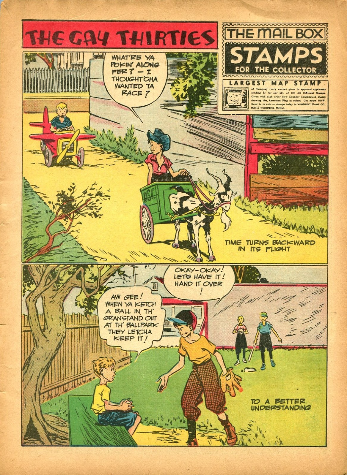 Read online Famous Funnies comic -  Issue #84 - 3