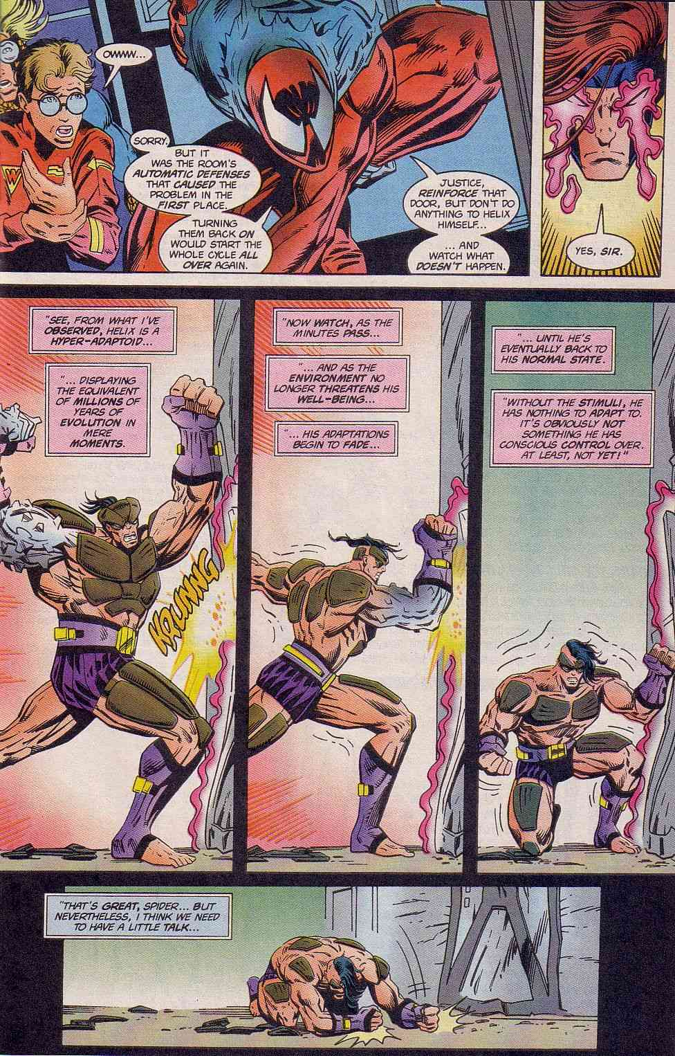 The New Warriors Issue #63 #67 - English 7