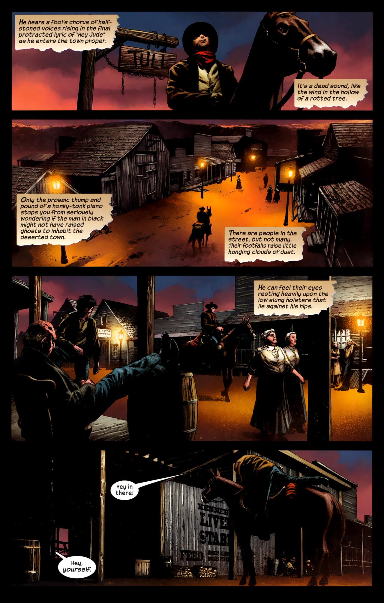 Read online Dark Tower: The Gunslinger - The Battle of Tull comic -  Issue #1 - 13