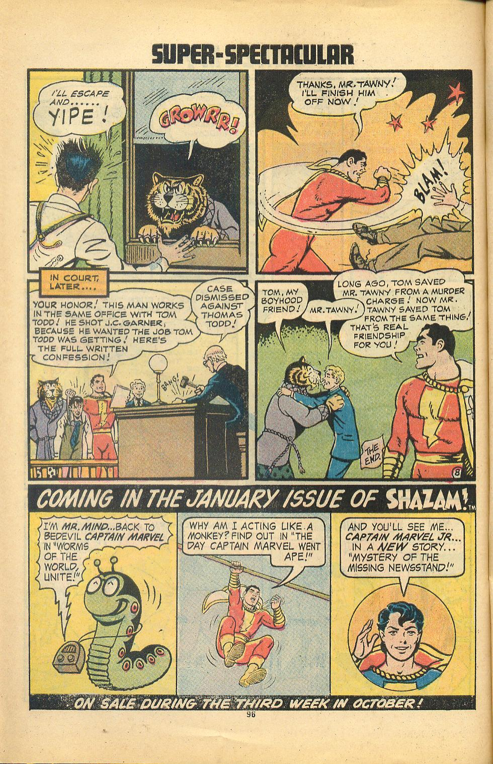 Read online Shazam! (1973) comic -  Issue #8 - 96