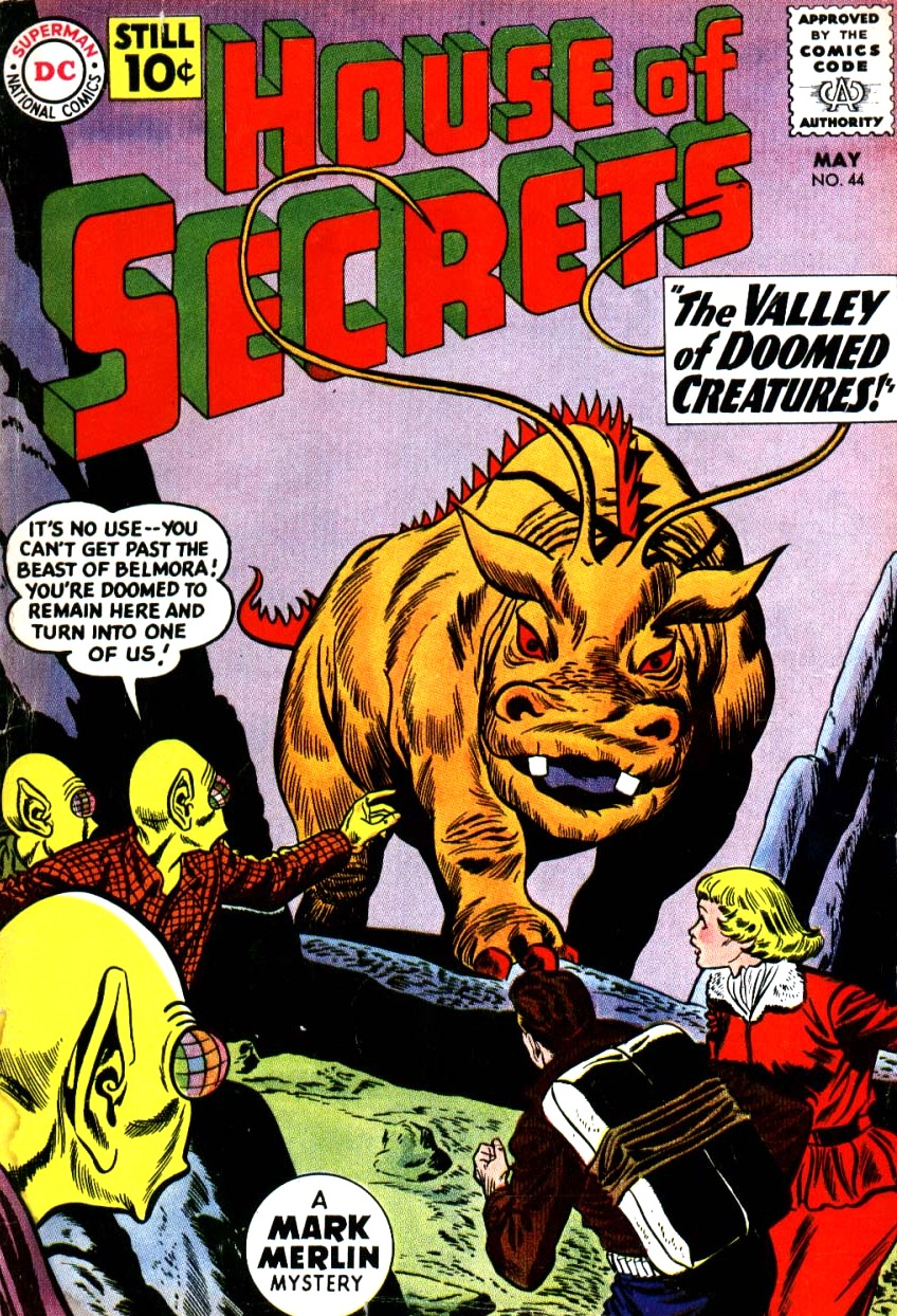House of Secrets (1956) issue 44 - Page 1
