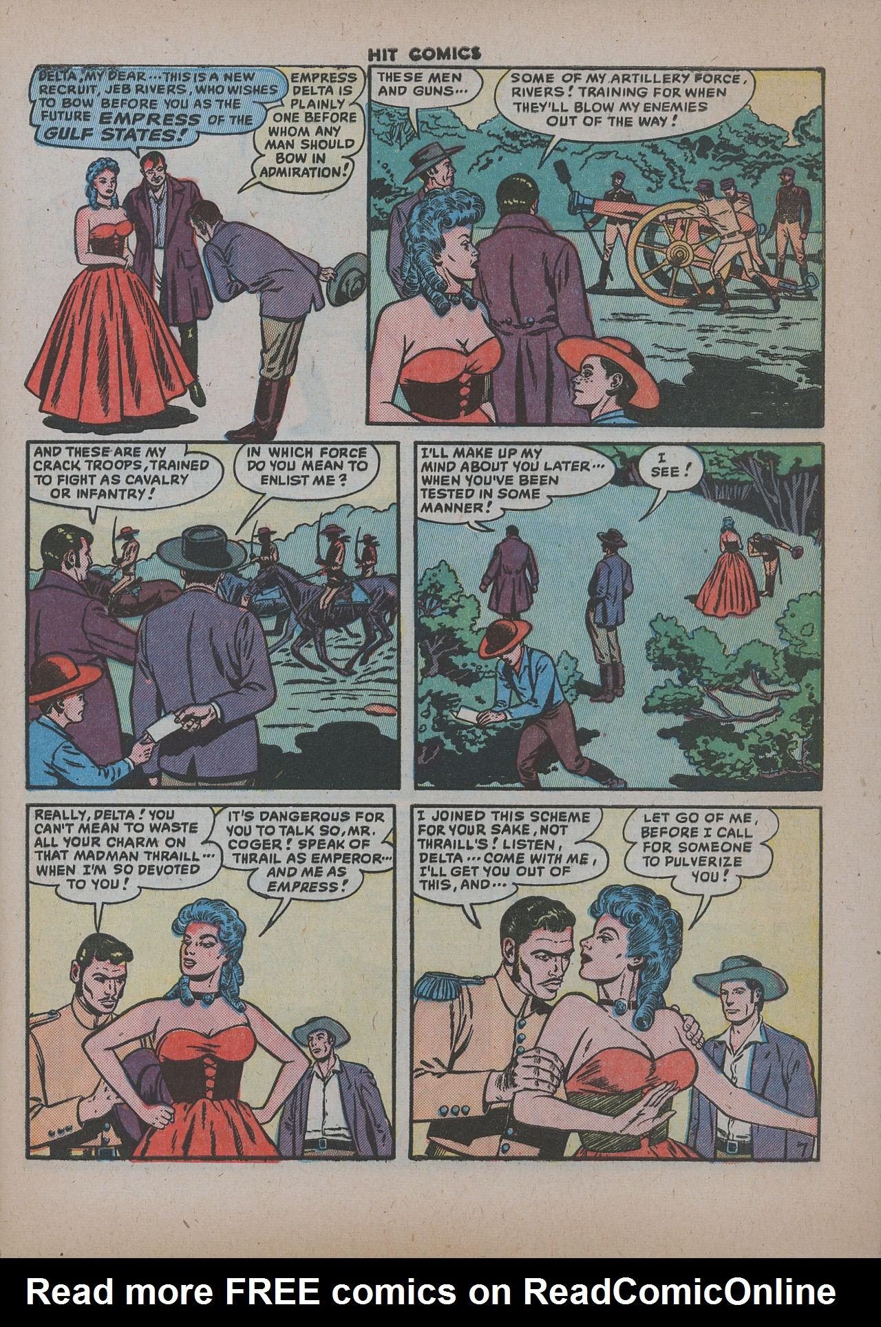 Read online Hit Comics comic -  Issue #62 - 10