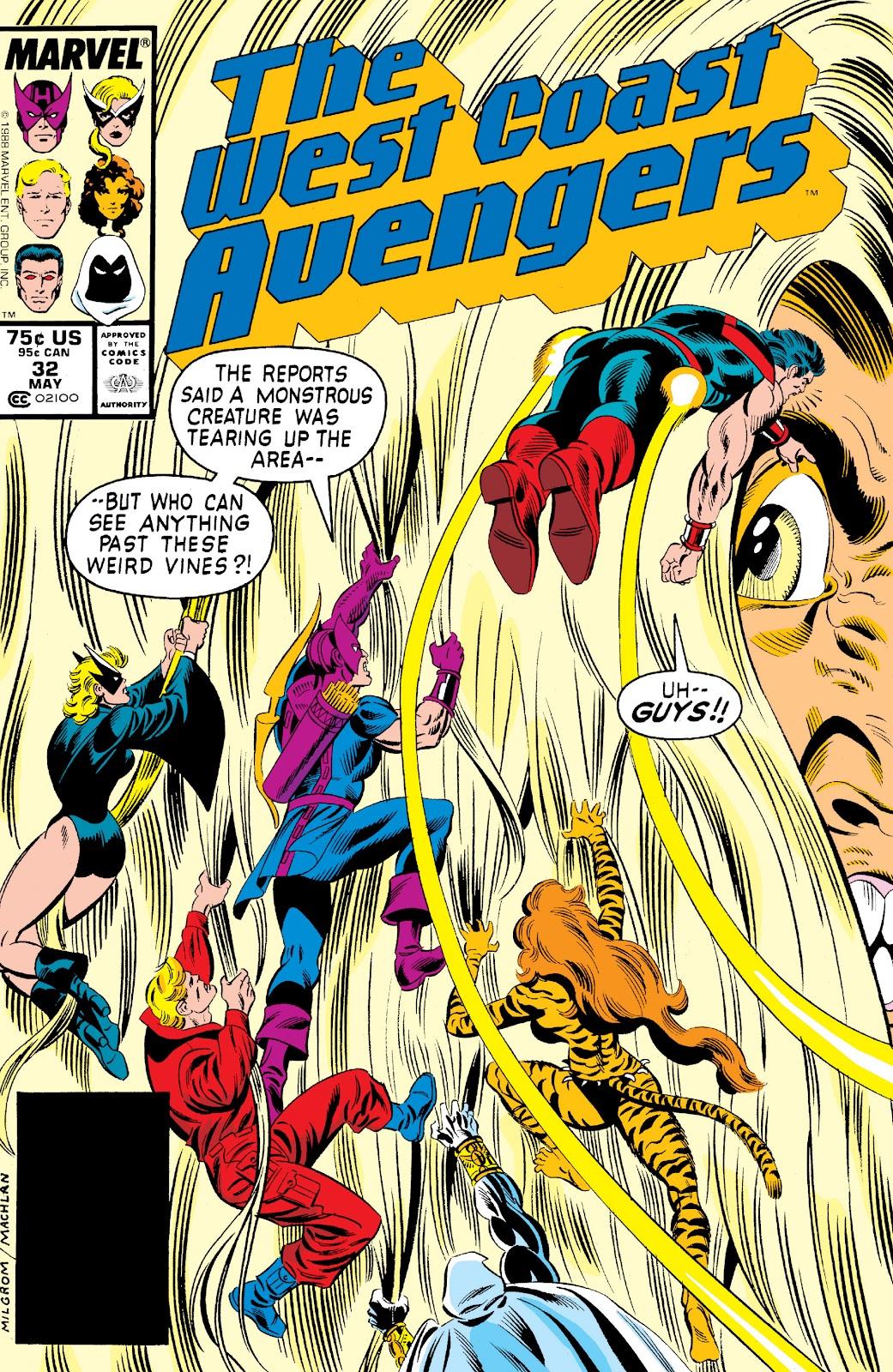 West Coast Avengers (1985) 32 Page 1