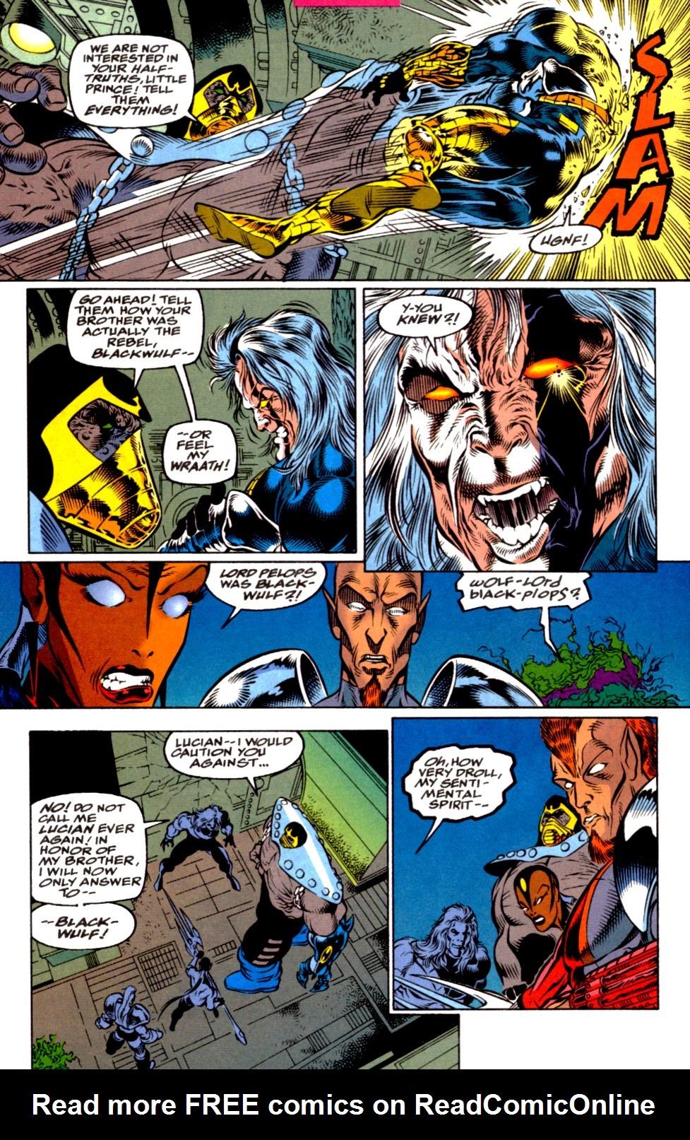 Read online Blackwulf comic -  Issue #2 - 5