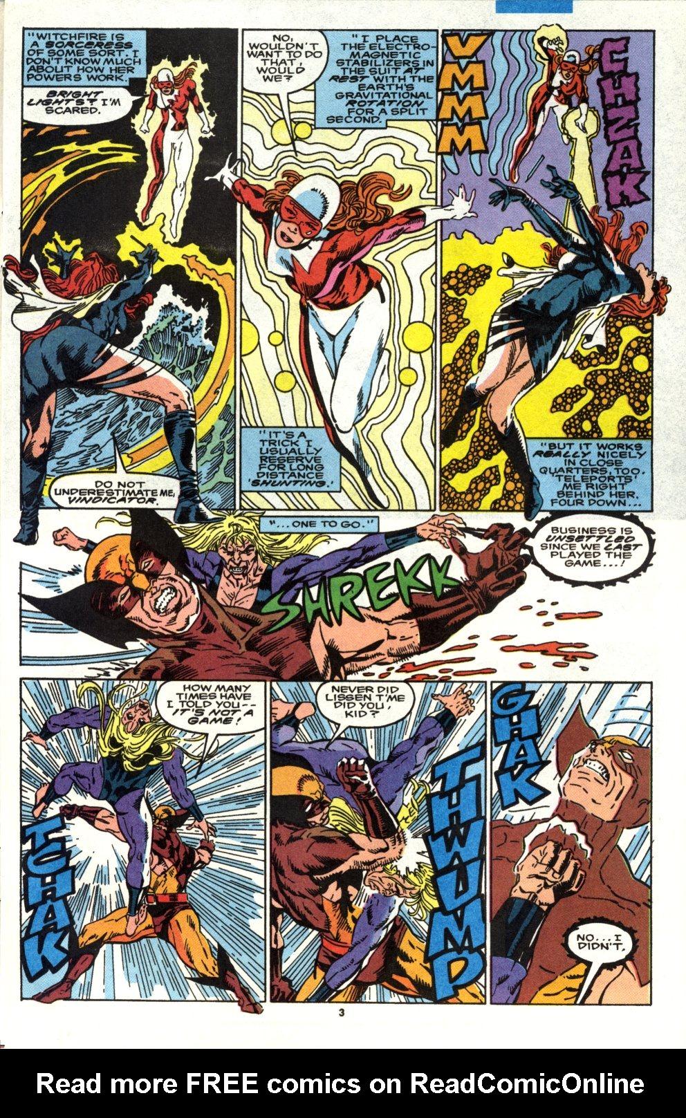 Read online Alpha Flight (1983) comic -  Issue #90 - 4