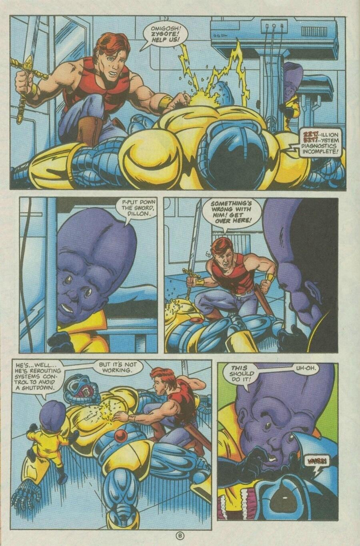 Read online Ex-Mutants comic -  Issue #10 - 9