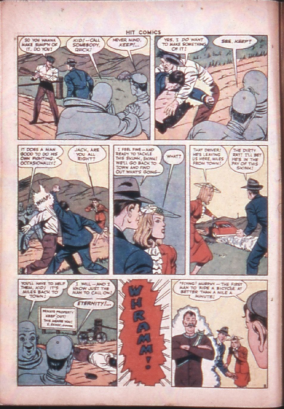 Read online Hit Comics comic -  Issue #33 - 10