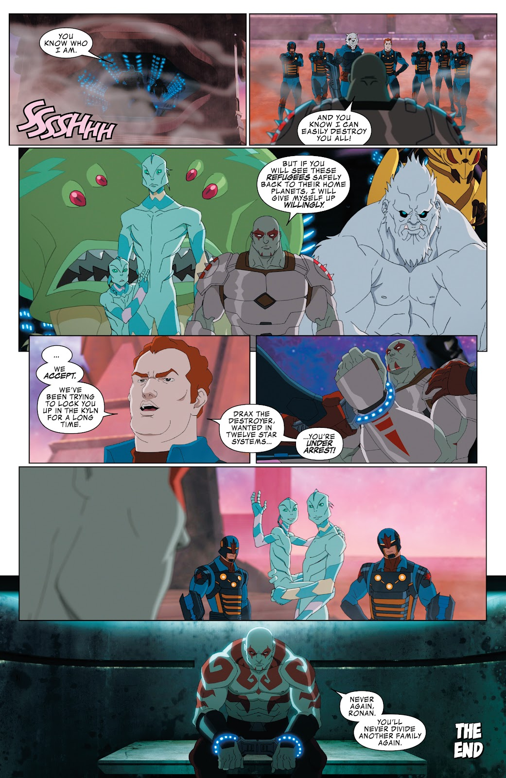 Read online Marvel Universe Guardians of the Galaxy [I] comic -  Issue #3 - 22