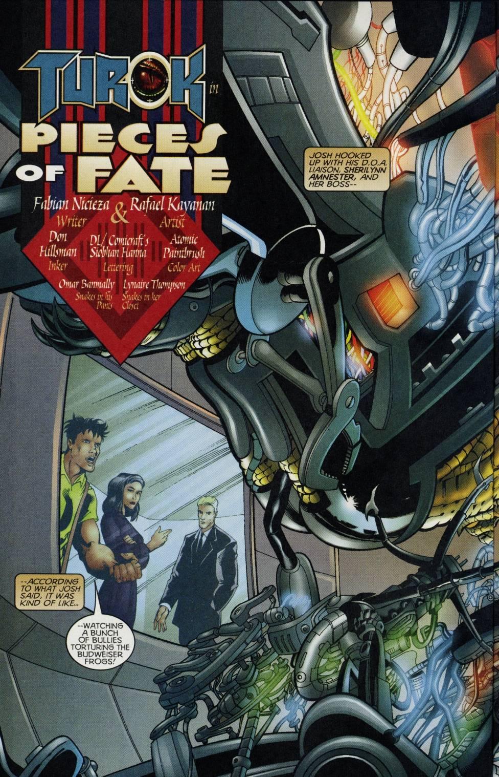 Read online Turok comic -  Issue #3 - 4