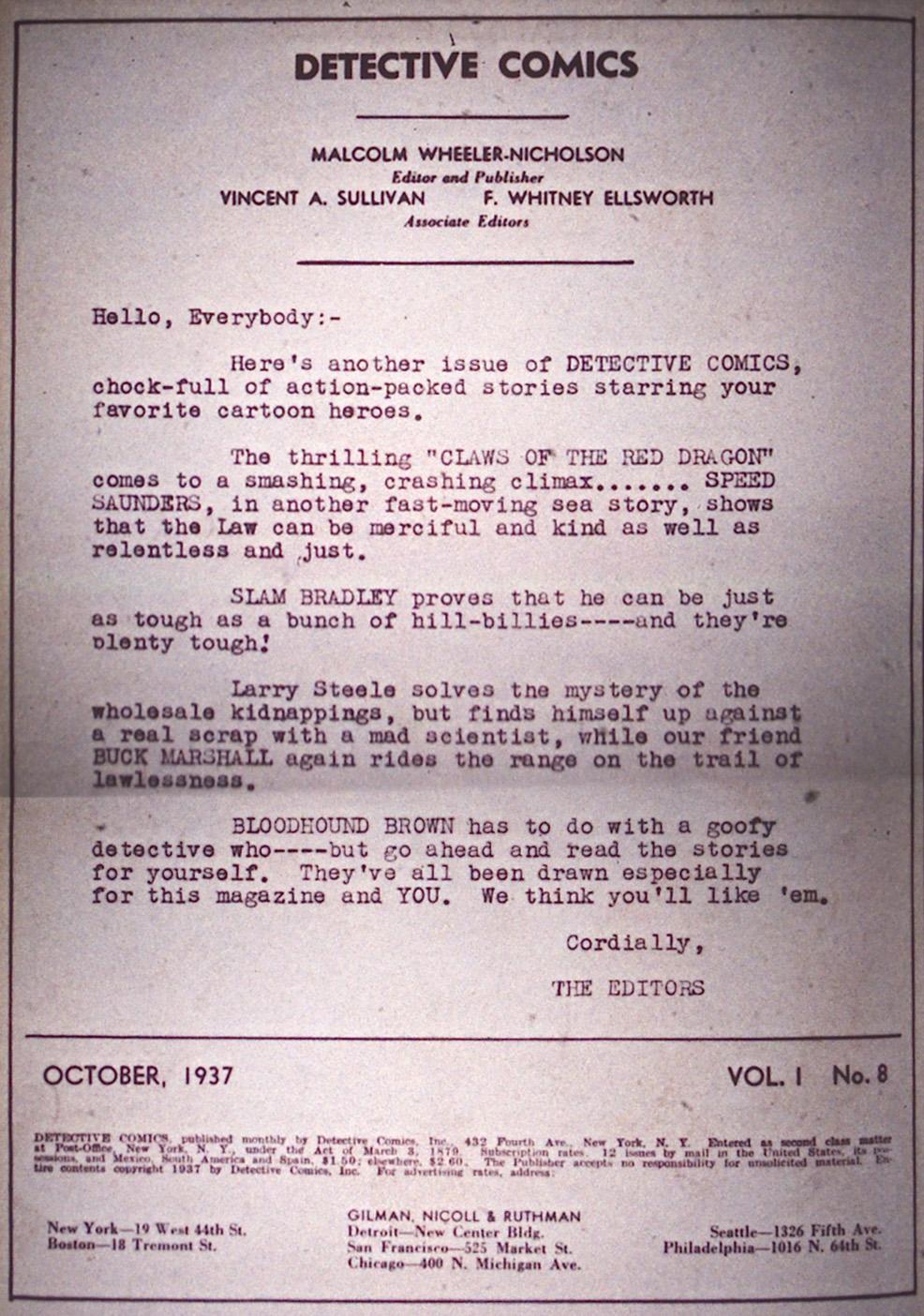 Read online Detective Comics (1937) comic -  Issue #8 - 2