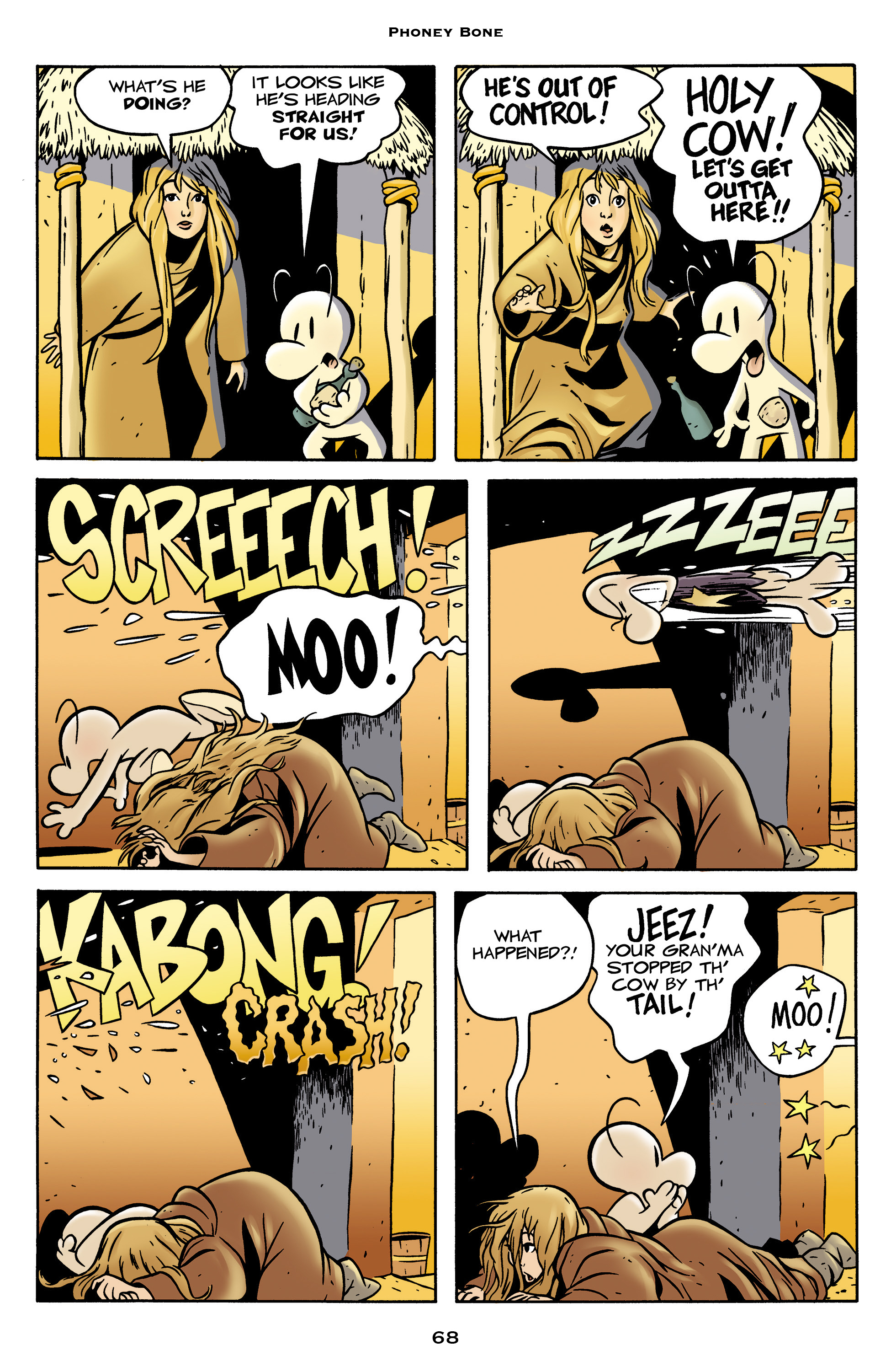 Read online Bone: Out From Boneville comic -  Issue # TPB - 68