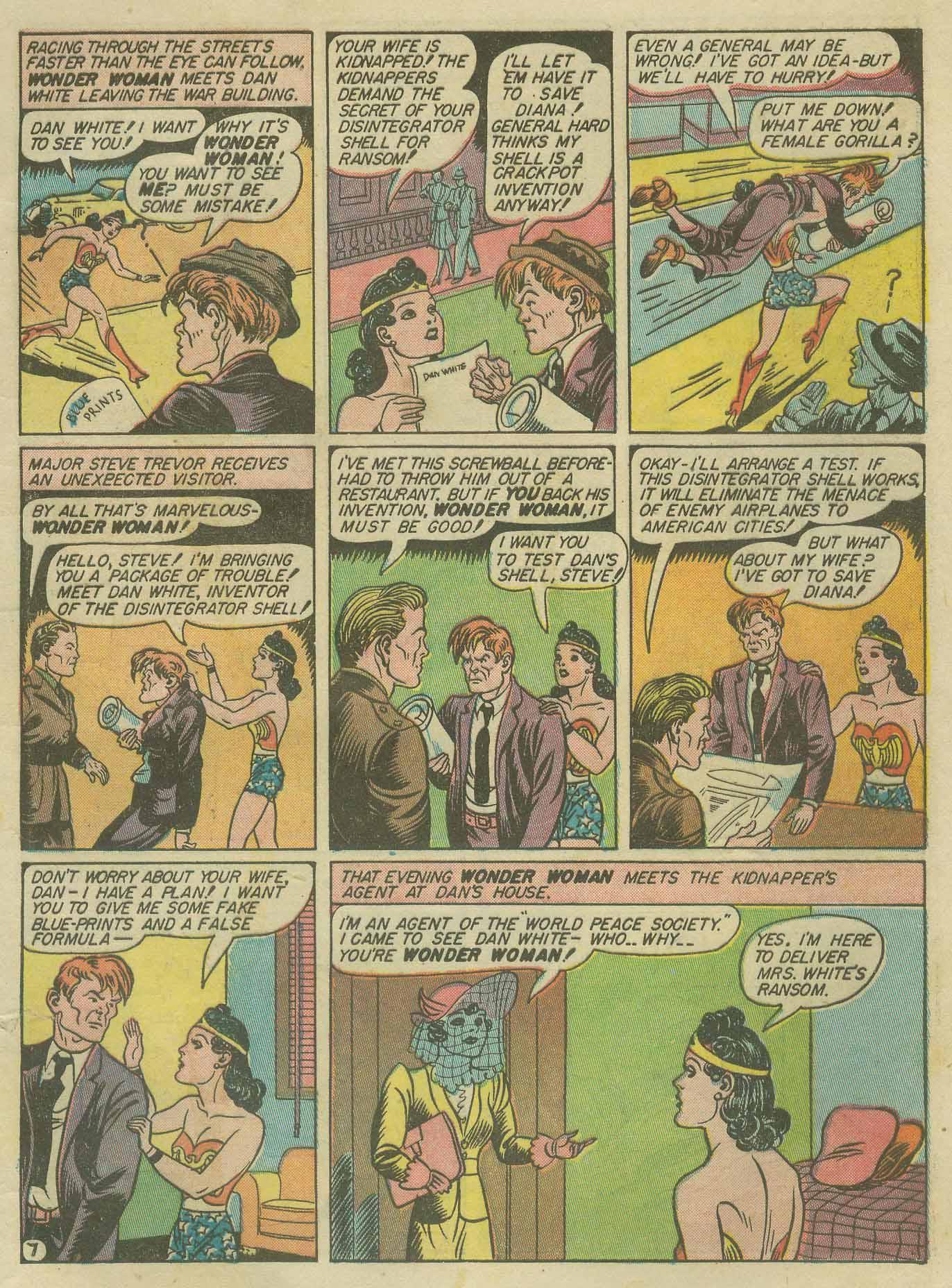 Read online Sensation (Mystery) Comics comic -  Issue #9 - 9