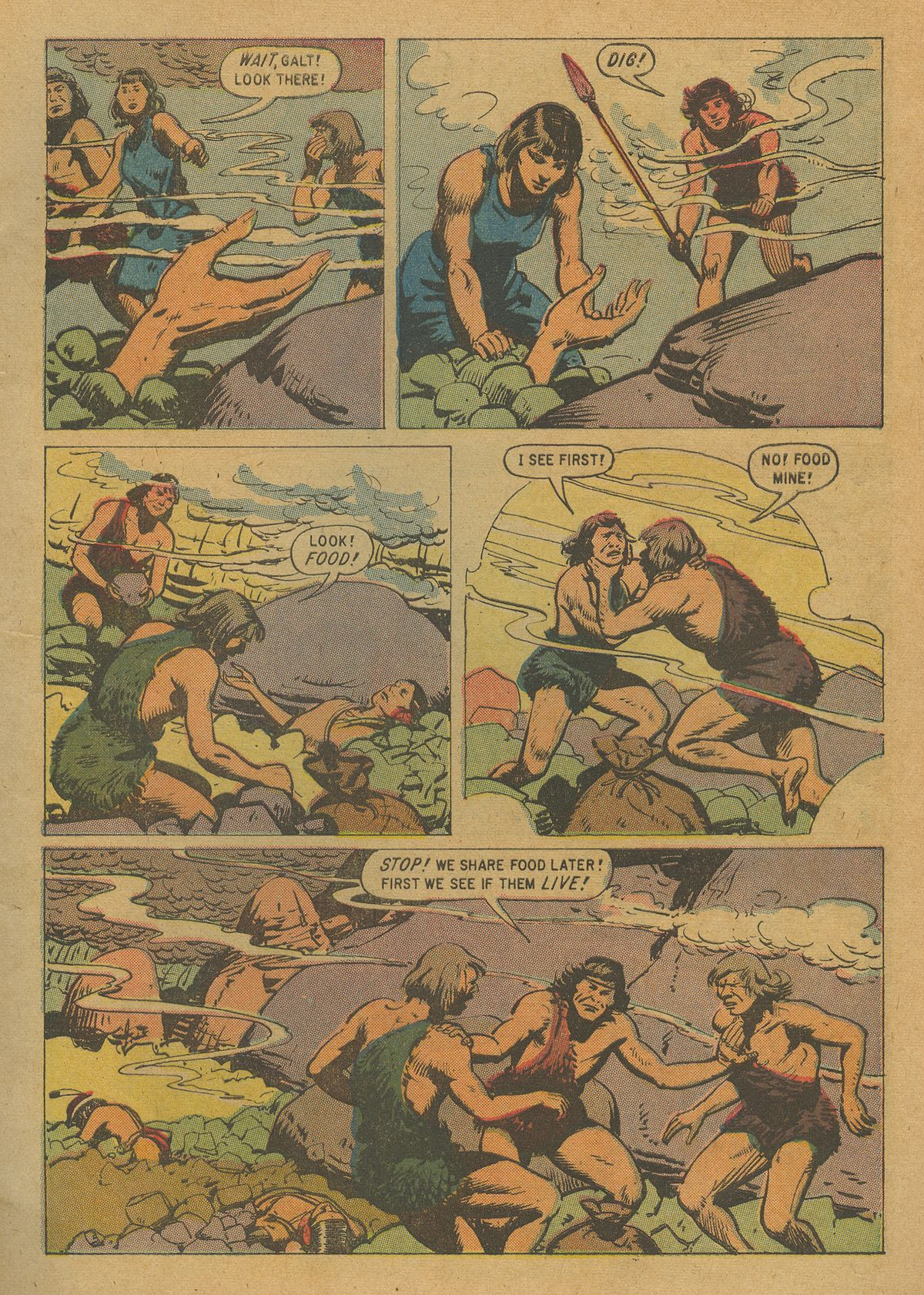 Read online Turok, Son of Stone comic -  Issue #20 - 5