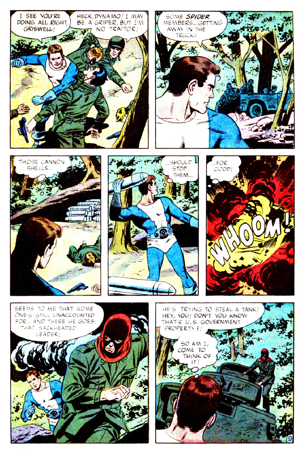 T.H.U.N.D.E.R. Agents (1965) issue 9 - Page 12