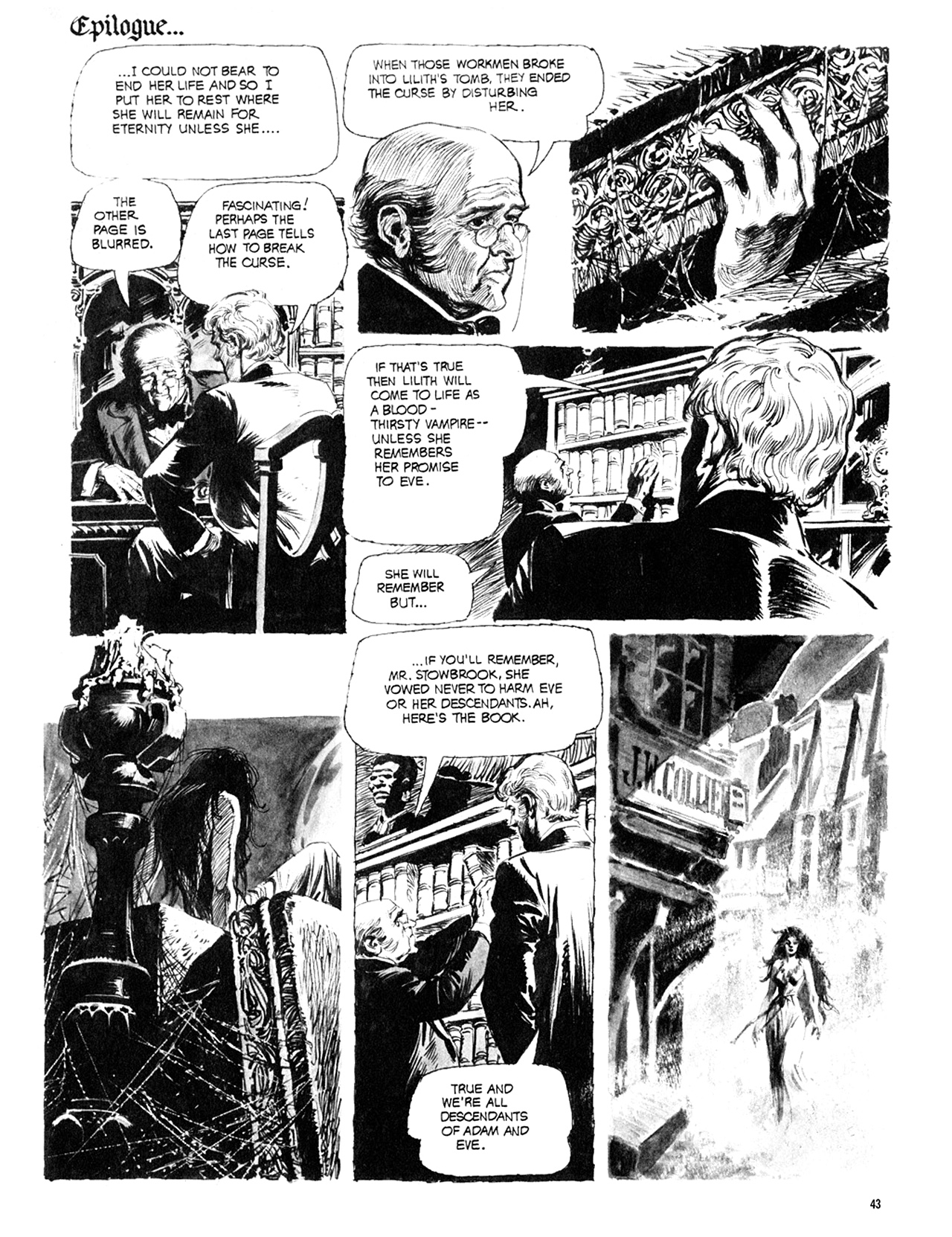 Read online Eerie Archives comic -  Issue # TPB 10 - 44