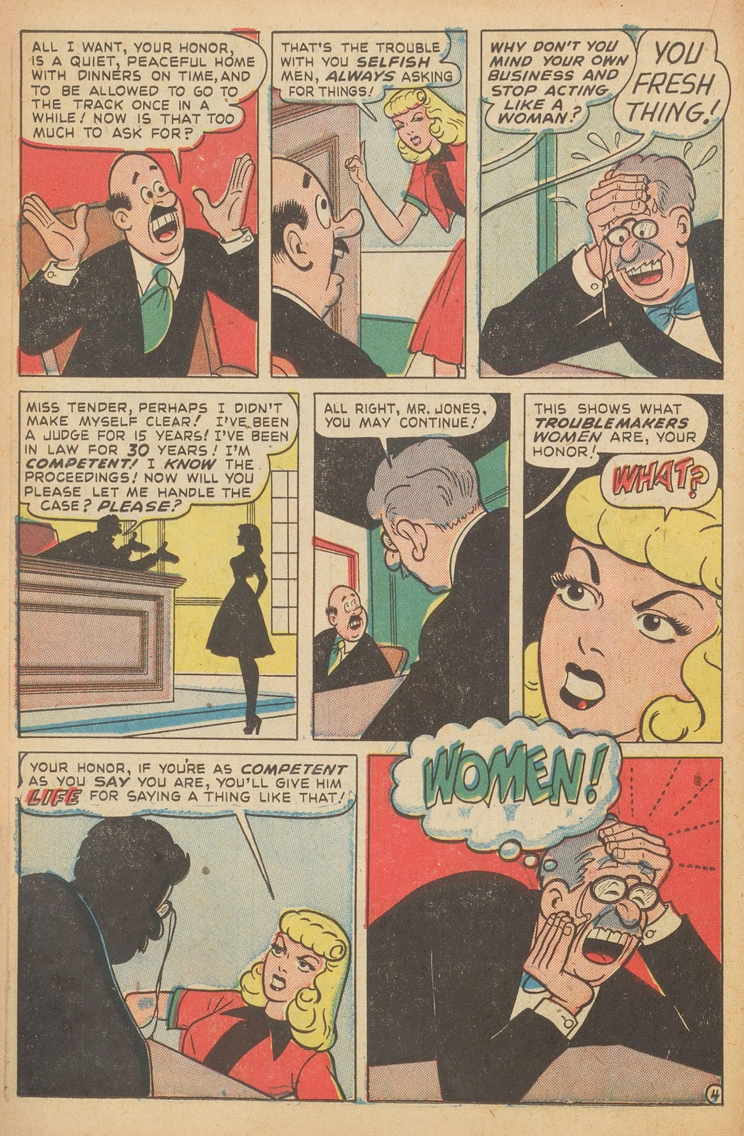 Read online Nellie The Nurse (1945) comic -  Issue #15 - 22