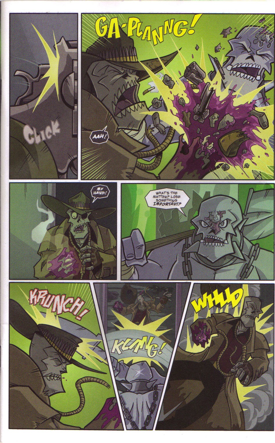 Read online Xombie Reanimated comic -  Issue #5 - 6