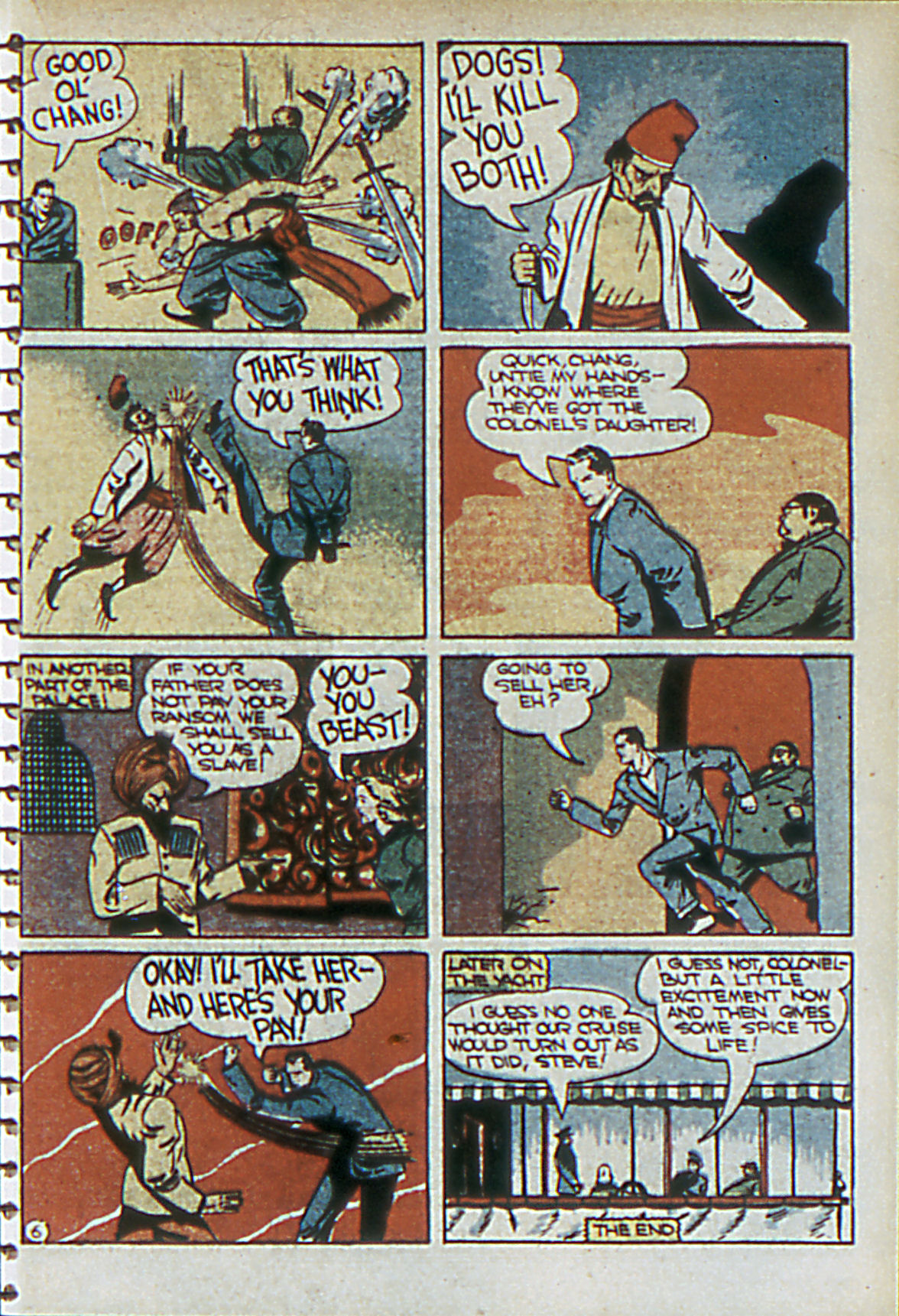 Read online Adventure Comics (1938) comic -  Issue #55 - 54