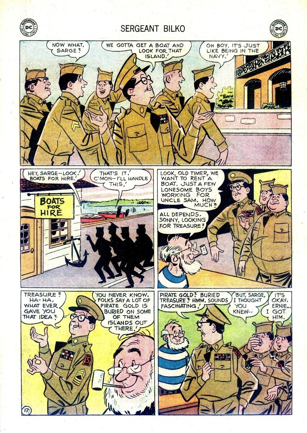 Sergeant Bilko issue 9 - Page 21