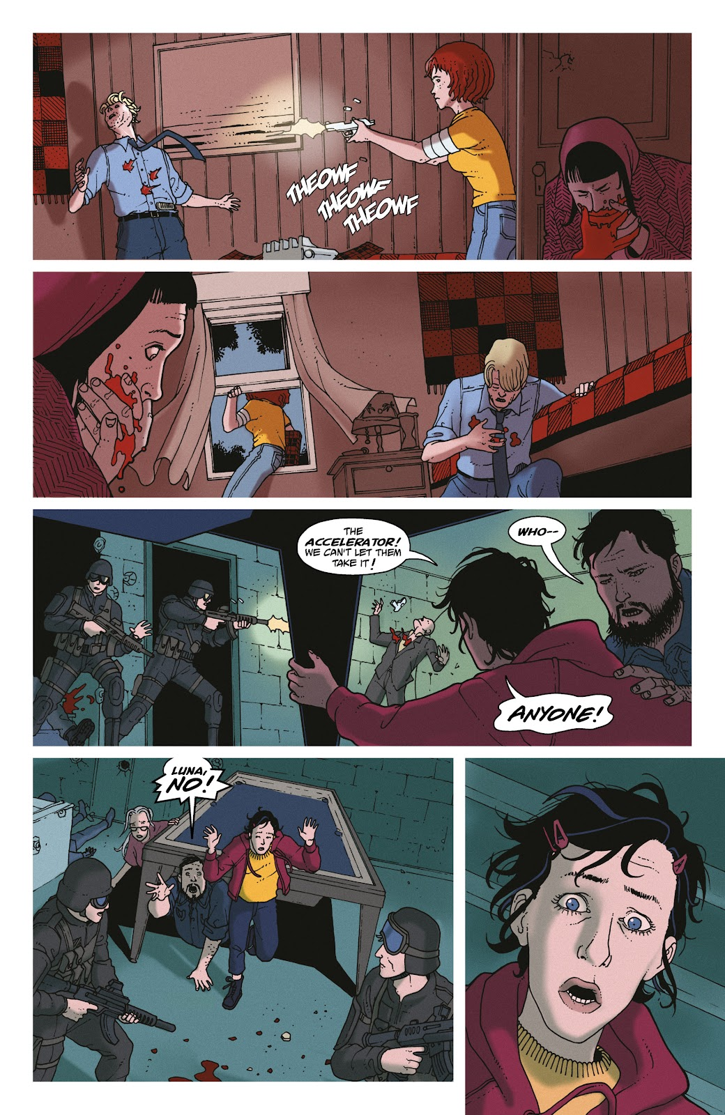 Read online She Could Fly comic -  Issue # _TPB - 131