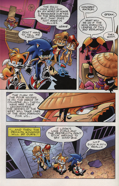 Read online Sonic Universe comic -  Issue #15 - 20