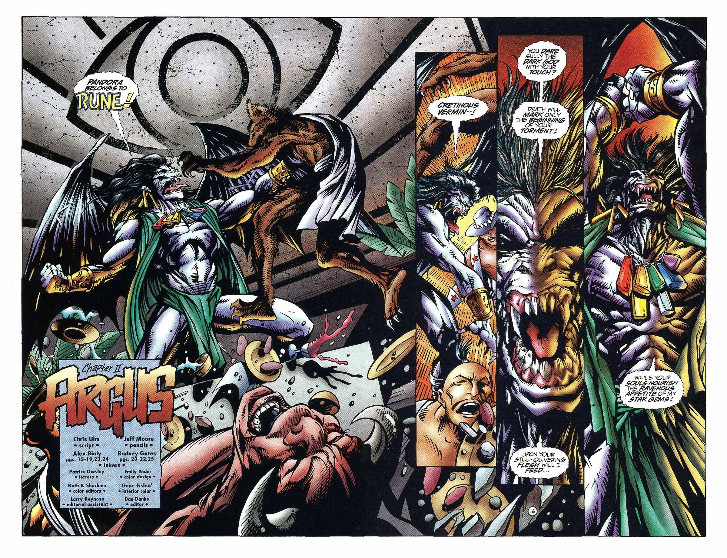 Read online Rune (1994) comic -  Issue #9 - 16