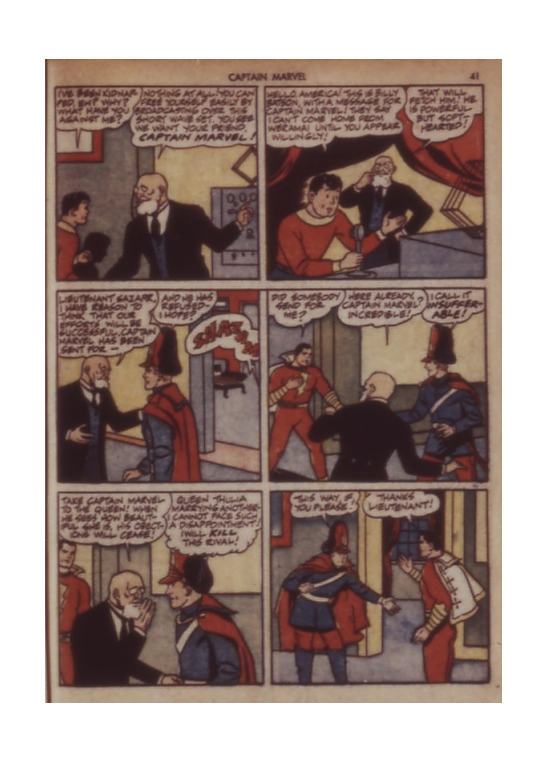 Captain Marvel Adventures issue 11 - Page 41