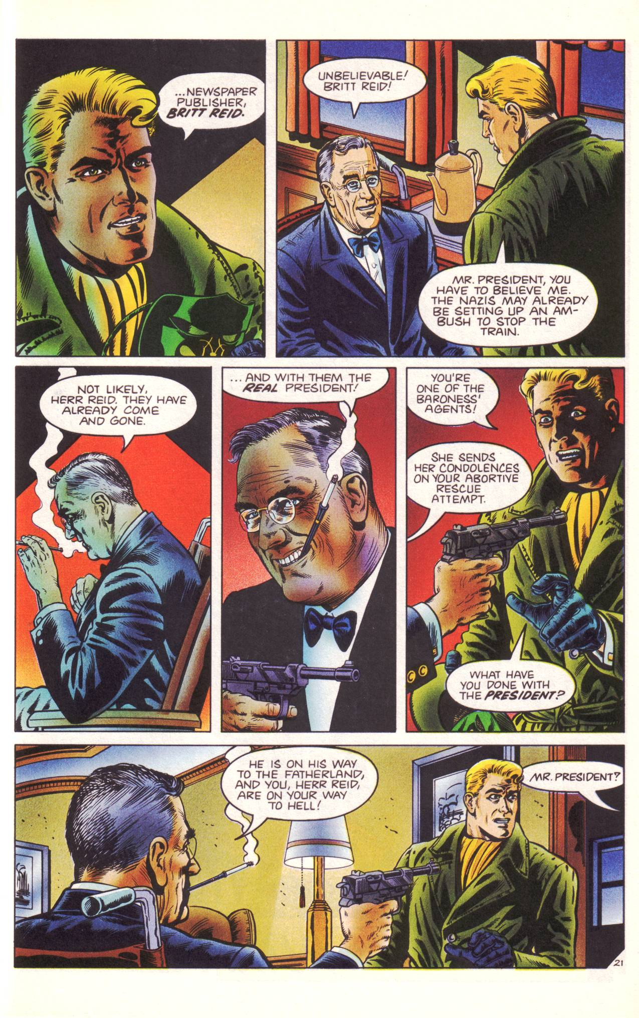 Read online Sting of The Green Hornet comic -  Issue #3 - 22