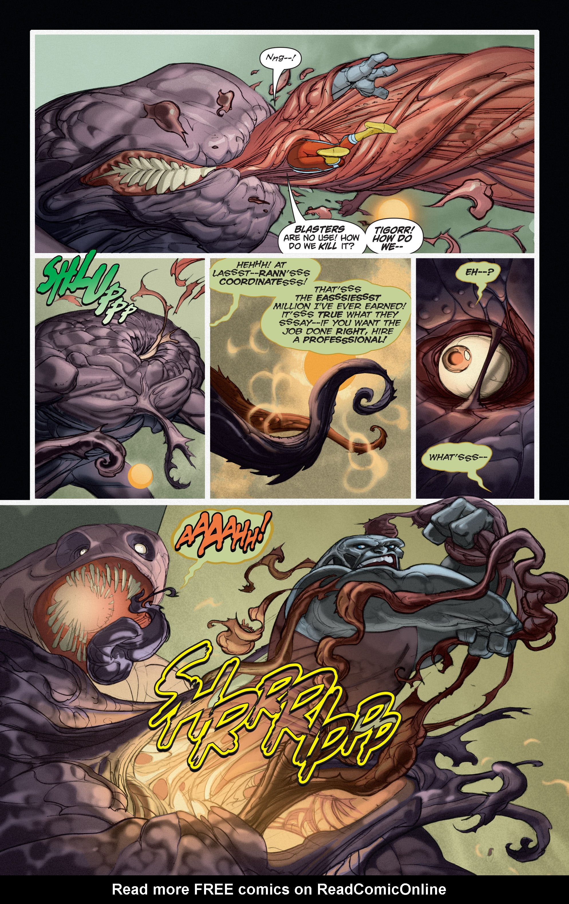 Read online Adam Strange (2004) comic -  Issue #6 - 8