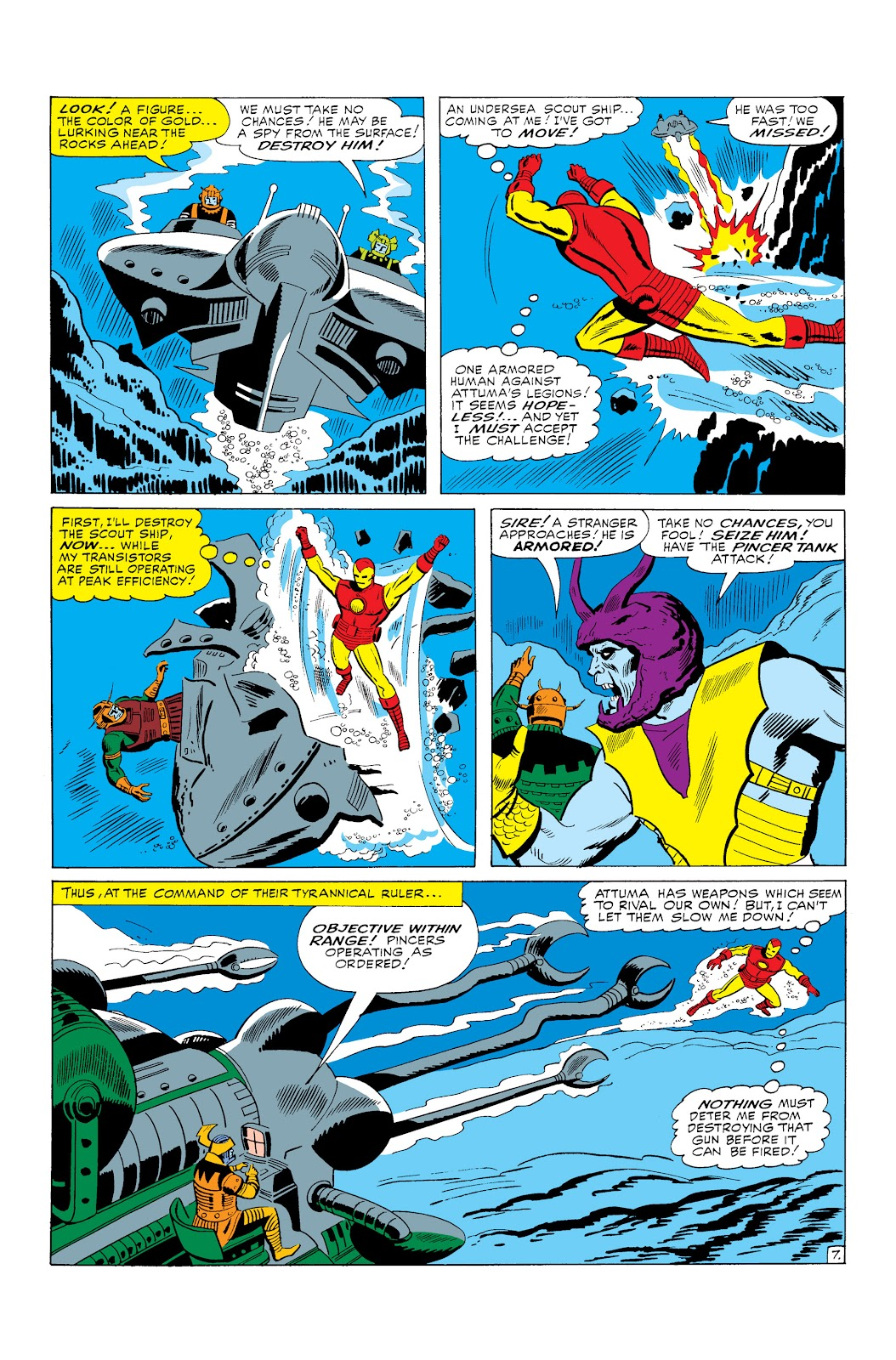Read online Marvel Masterworks: The Invincible Iron Man comic -  Issue # TPB 3 (Part 1) - 10