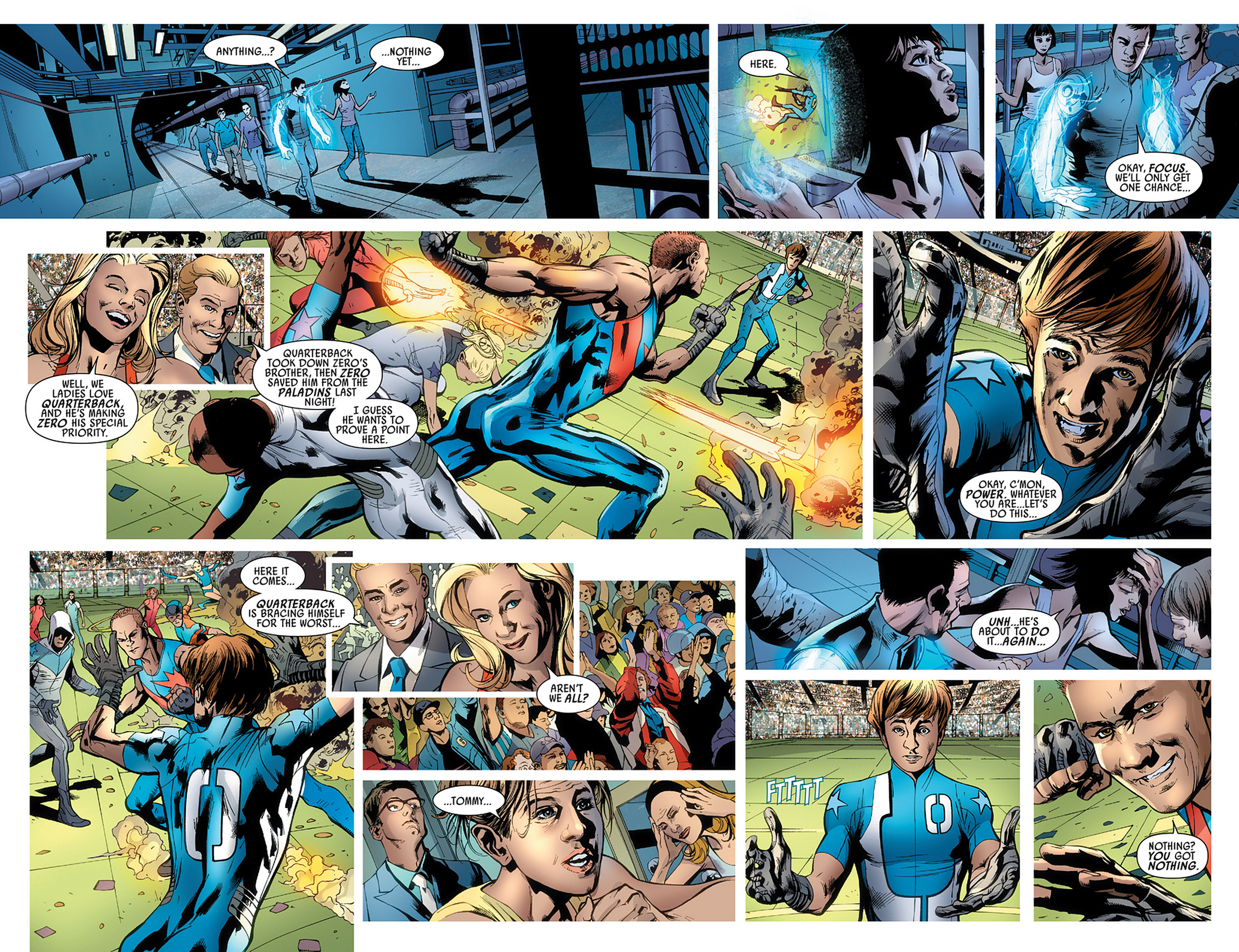 Read online America's Got Powers comic -  Issue #3 - 18