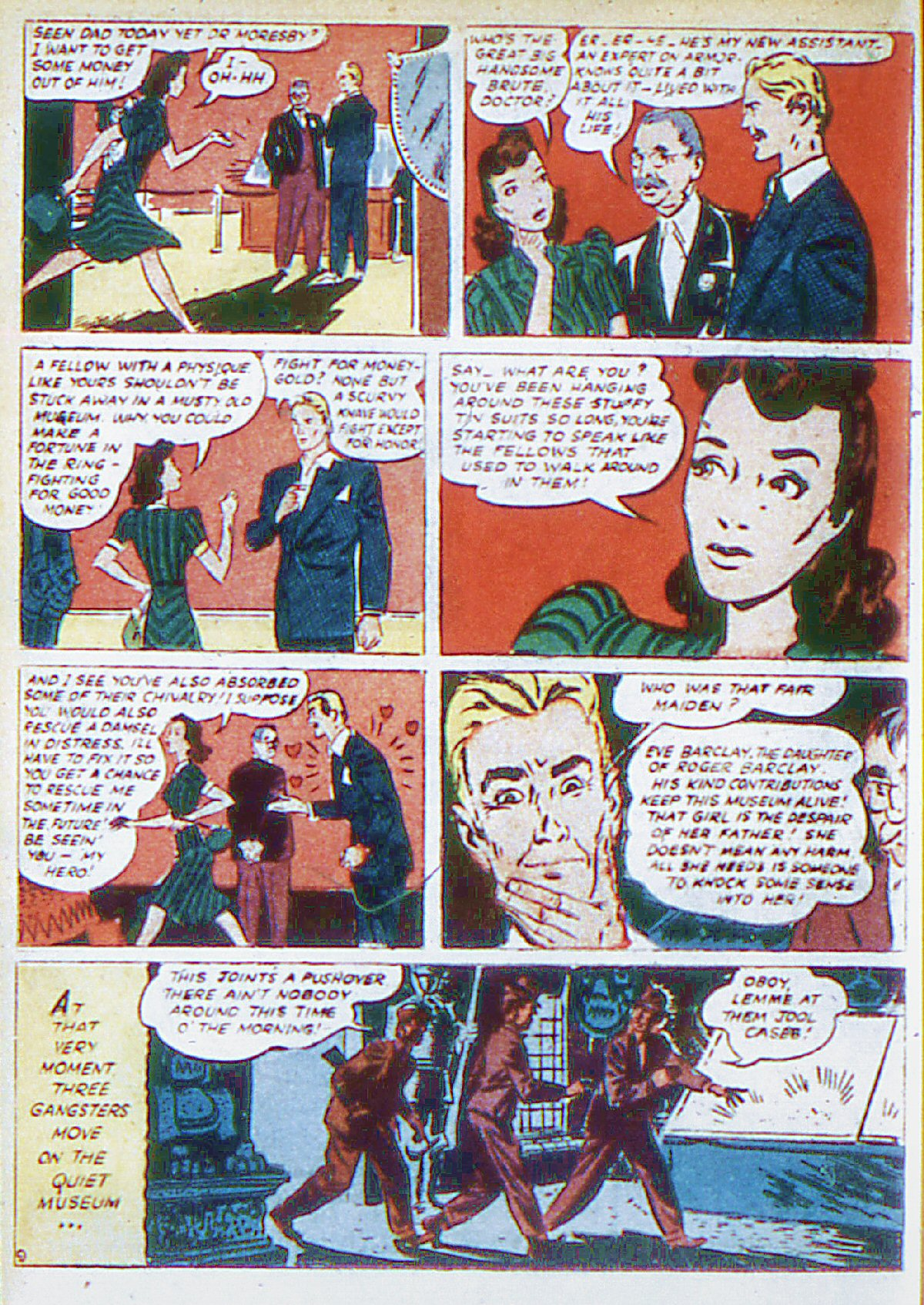 Read online Adventure Comics (1938) comic -  Issue #66 - 25