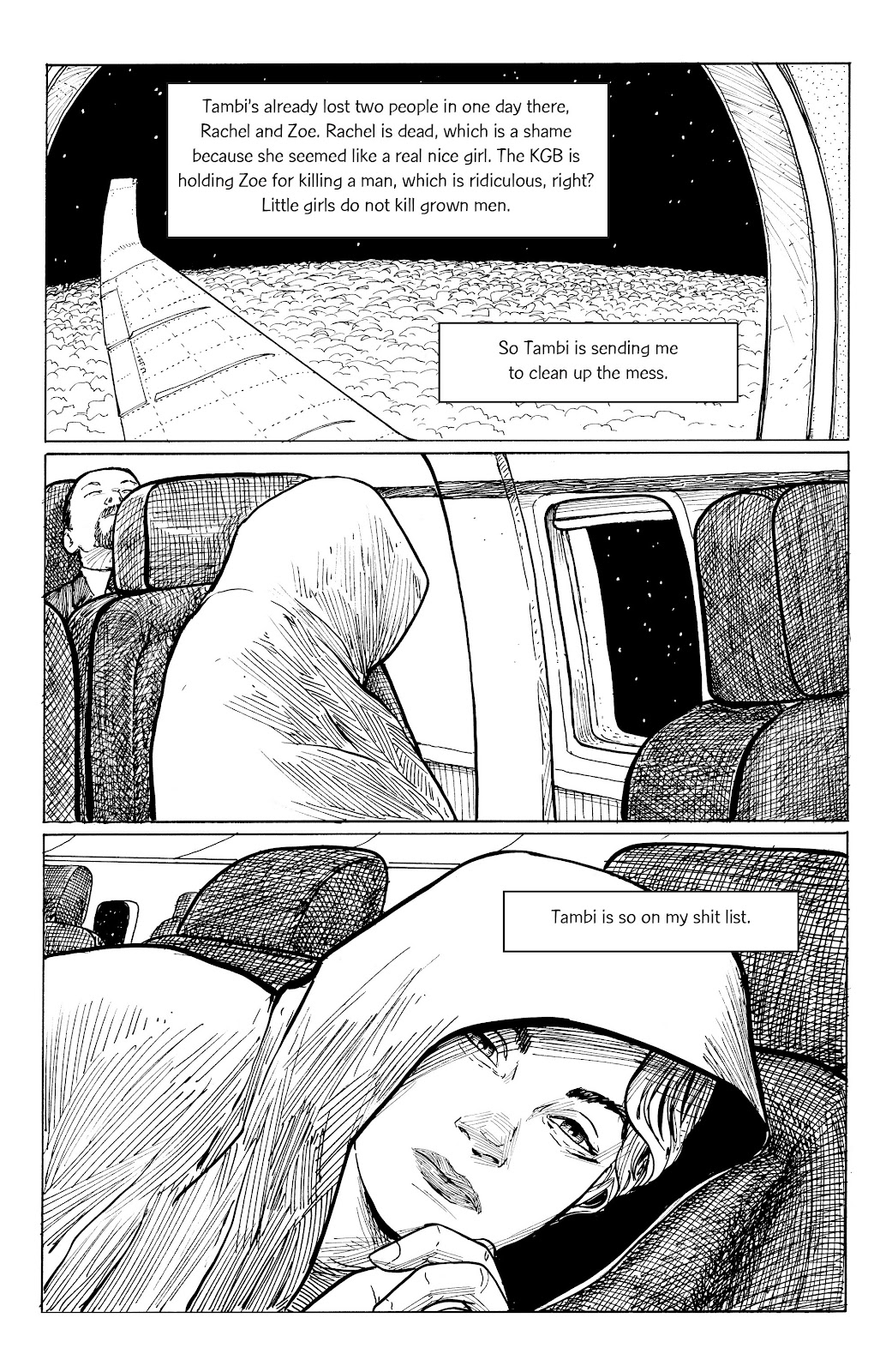 Read online Five Years comic -  Issue #7 - 5