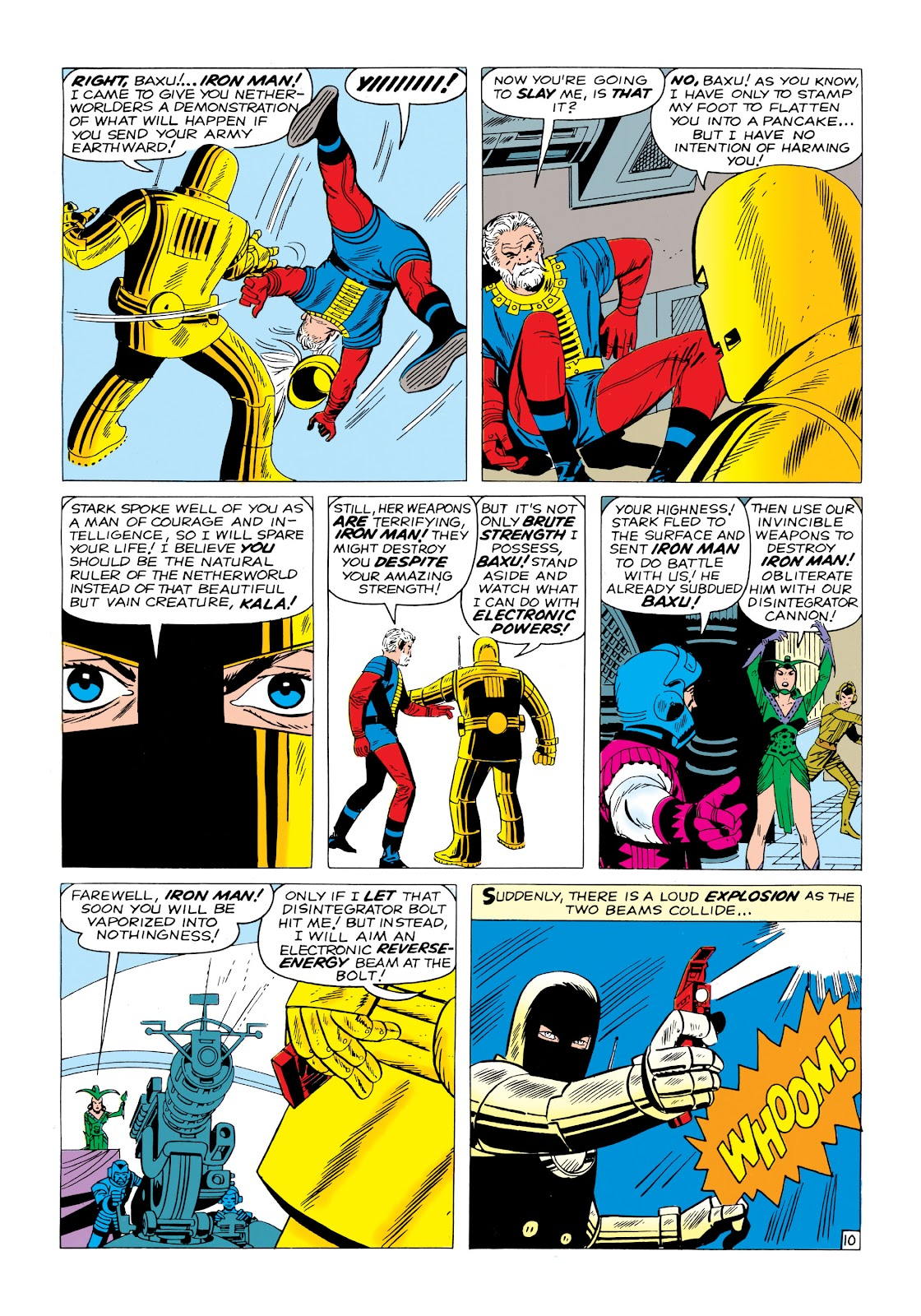 Read online Marvel Masterworks: The Invincible Iron Man comic -  Issue # TPB 1 (Part 1) - 69