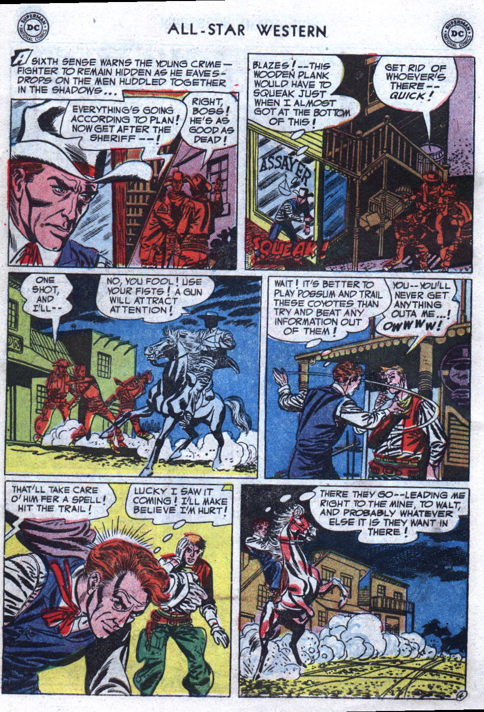 Read online All-Star Western (1951) comic -  Issue #69 - 6