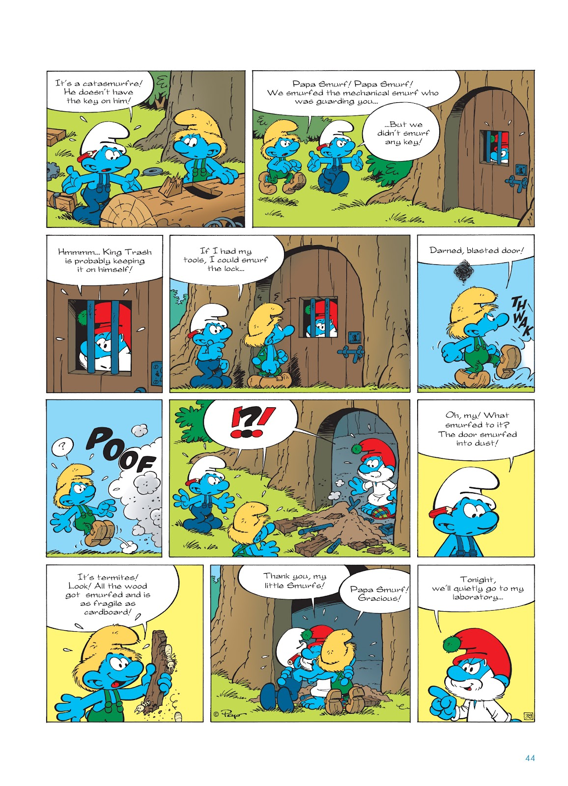 Read online The Smurfs comic -  Issue #23 - 44