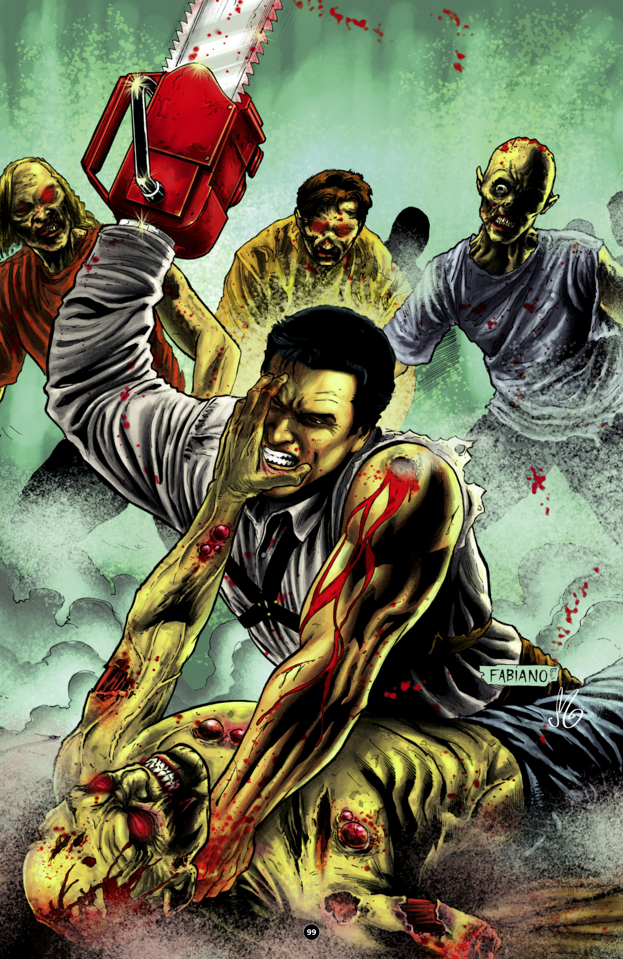 Read online Army of Darkness: The Long Road Home comic -  Issue #Army of Darkness: The Long Road Home TPB - 112