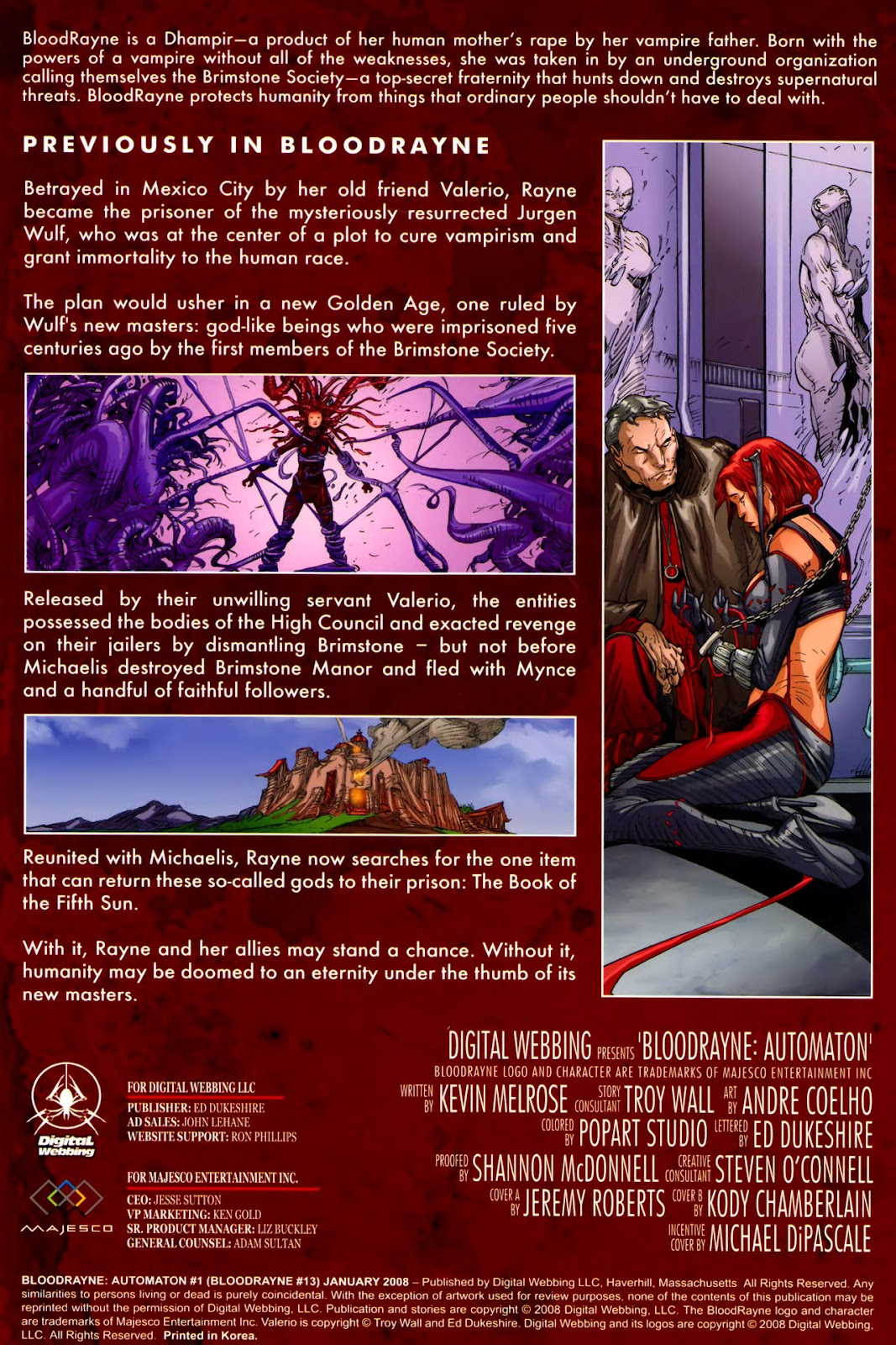 BloodRayne: Automaton issue Full - Page 4