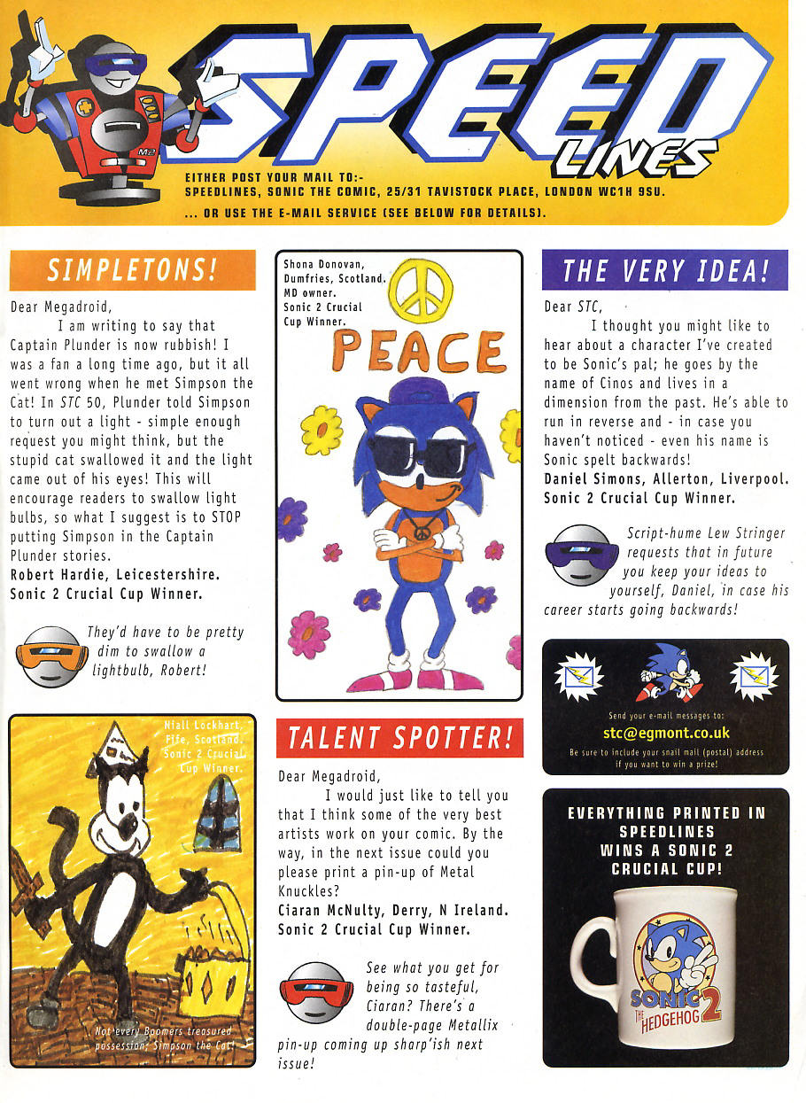 Read online Sonic the Comic comic -  Issue #108 - 28