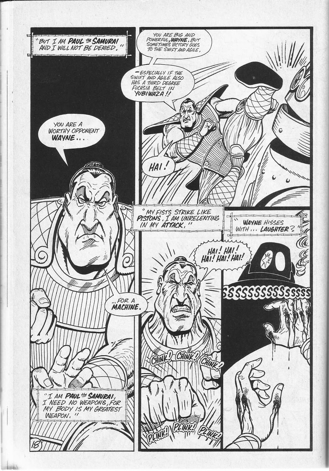 Read online Paul the Samurai (1991) comic -  Issue # TPB - 54